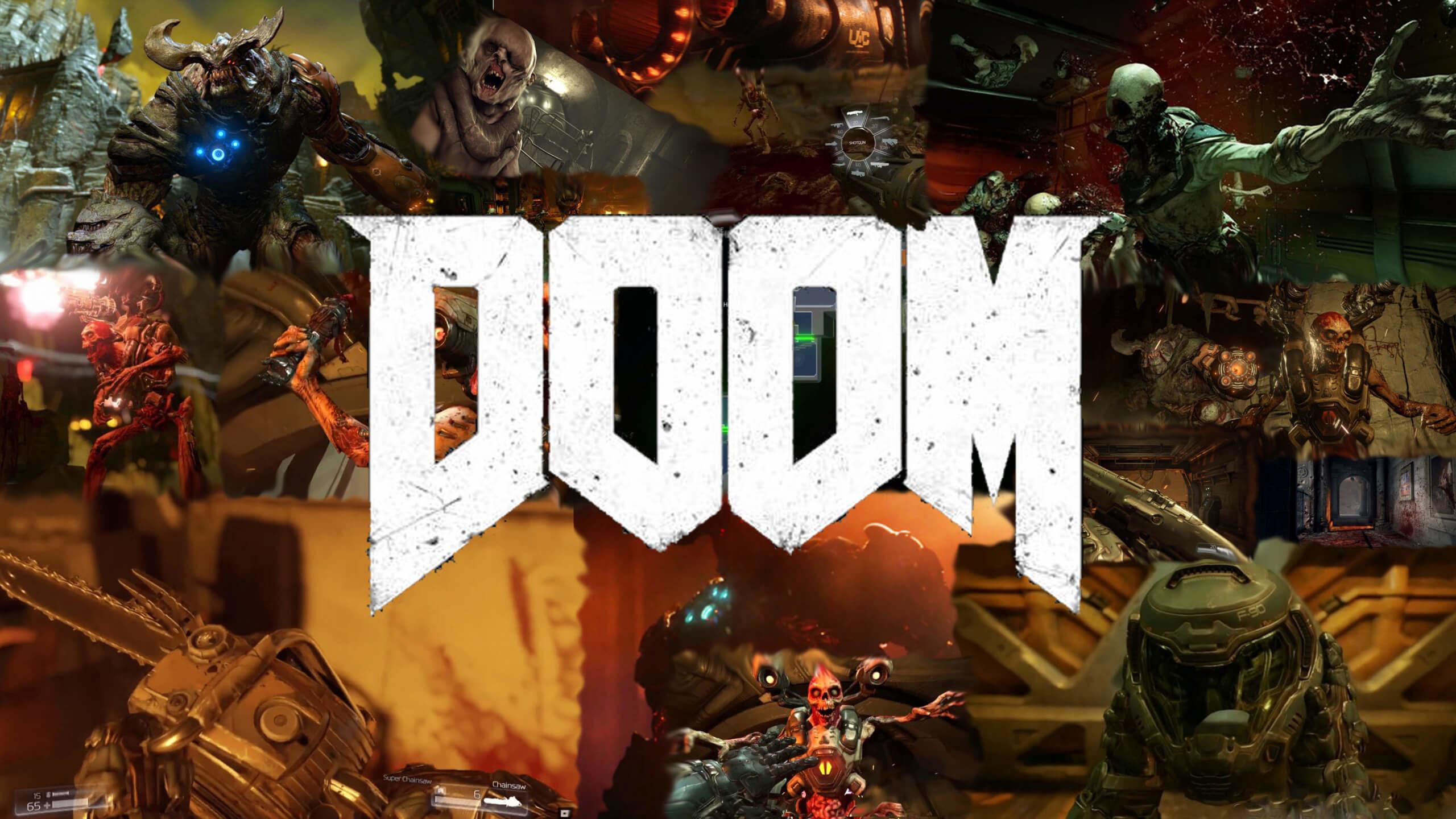 Res: 2560x1440, Description: Download DOOM 2016 Game HD & Widescreen Wallpaper ...