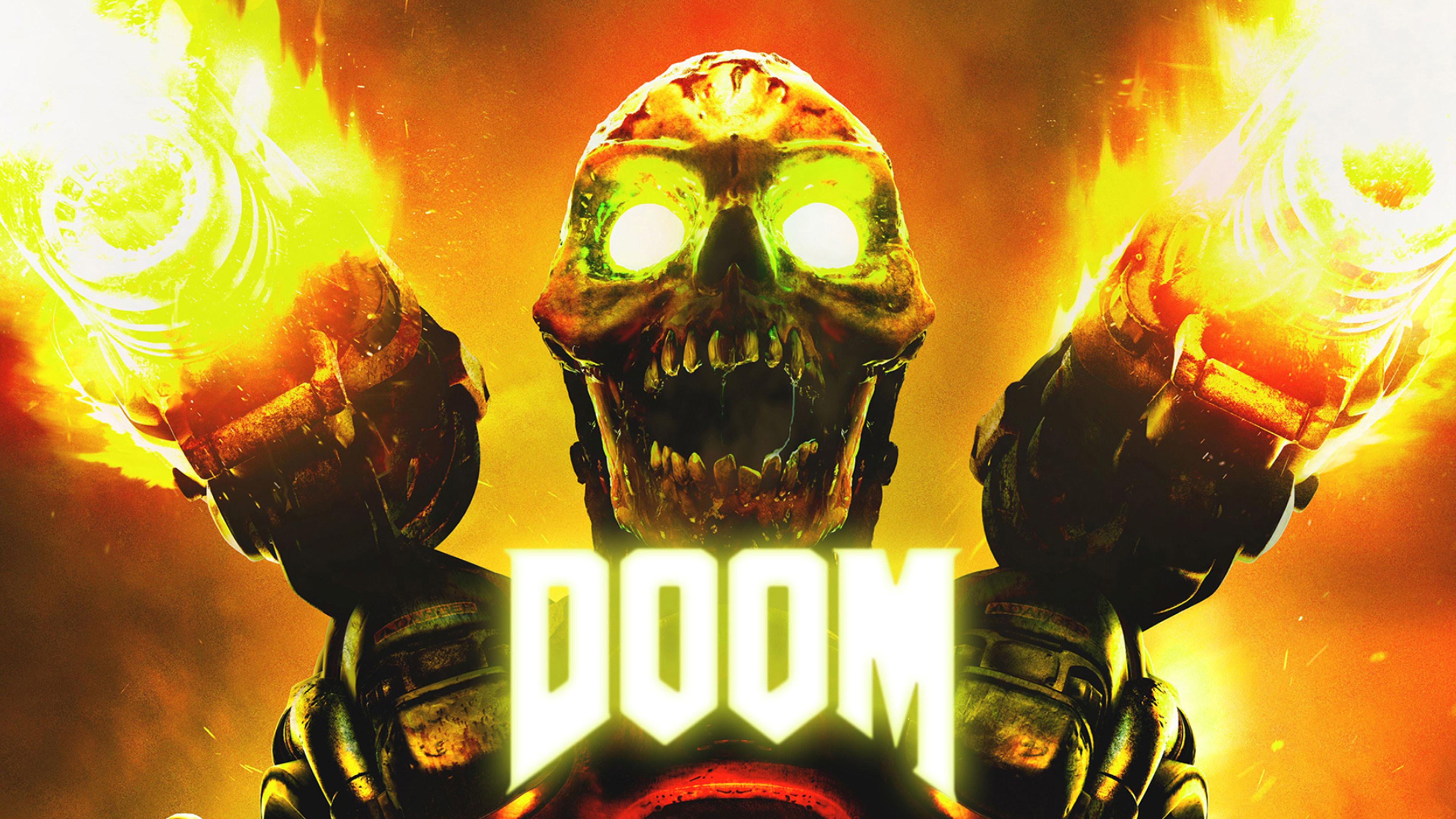 Res: 3840x2160, Doom 4K Wallpaper ...