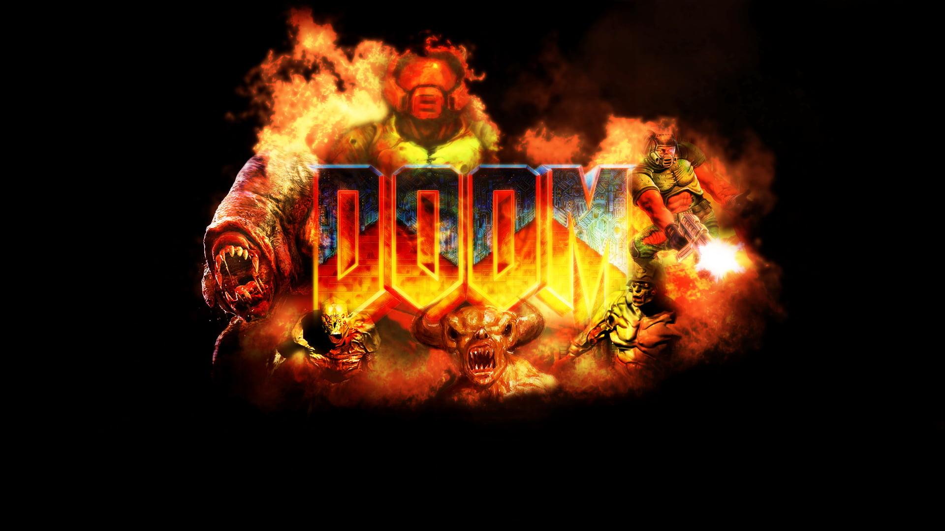 Res: 1920x1080, Doom digital game wallpaper HD wallpaper
