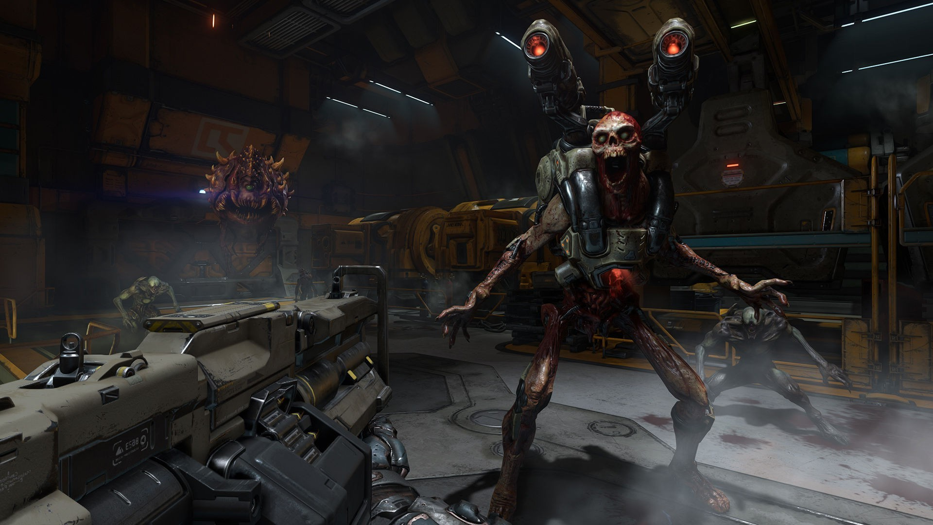Res: 1920x1080, Doom (game), Doom 4, Id Software, Video Games, Shooter, First person  Shooter Wallpapers HD / Desktop and Mobile Backgrounds