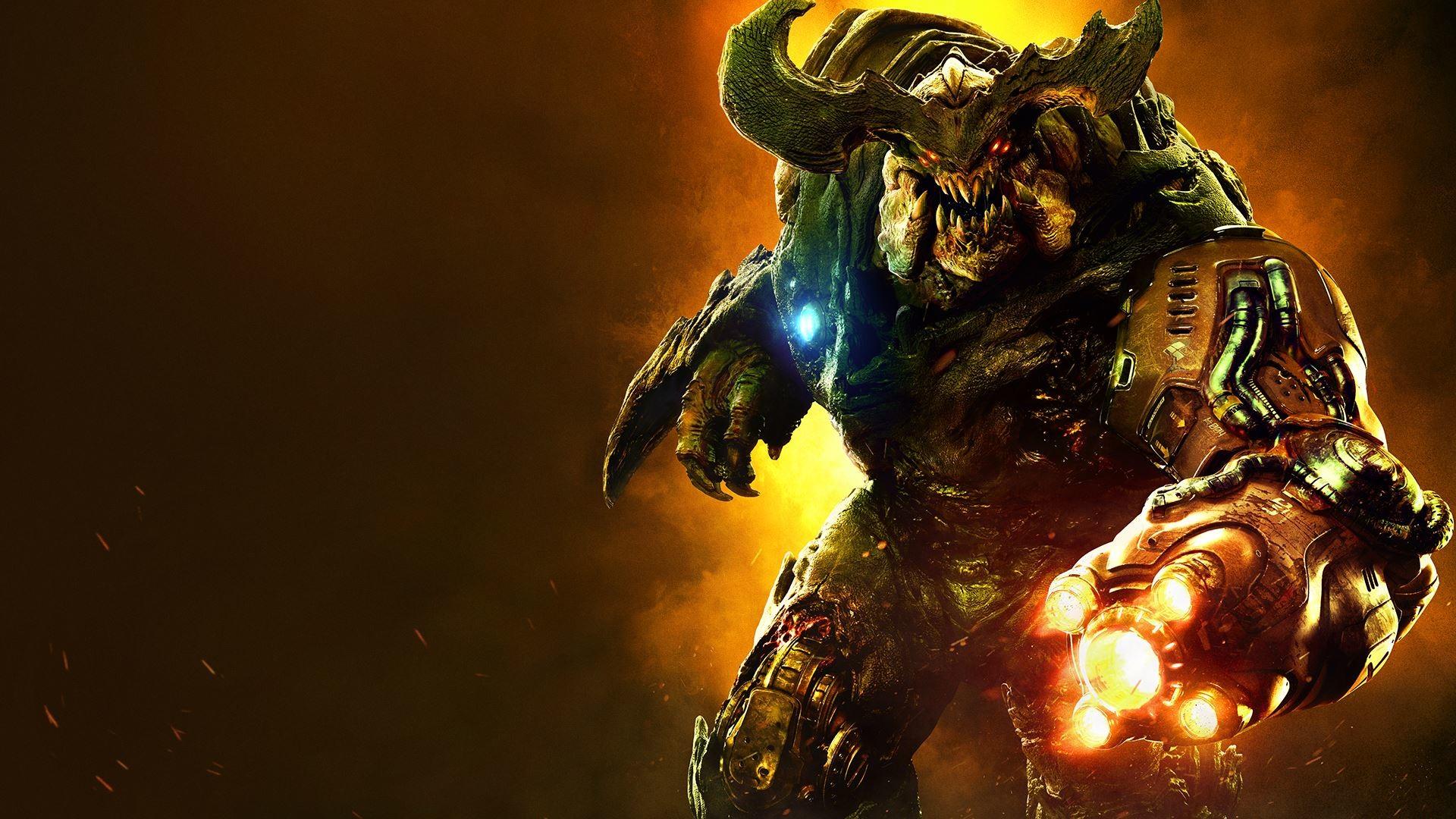 Res: 1920x1080, Hell Knight Doom by CristianAC DOOM® Quake® Wolfenstein ×