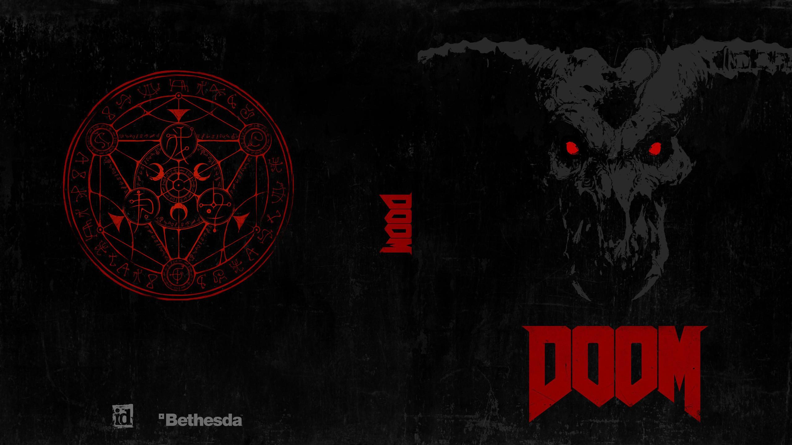 Res: 2560x1440, Doom 4 2016 Game