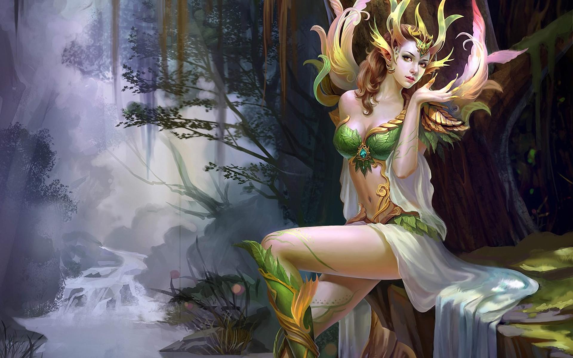Res: 1920x1200, Fantasy - Fairy Wallpaper