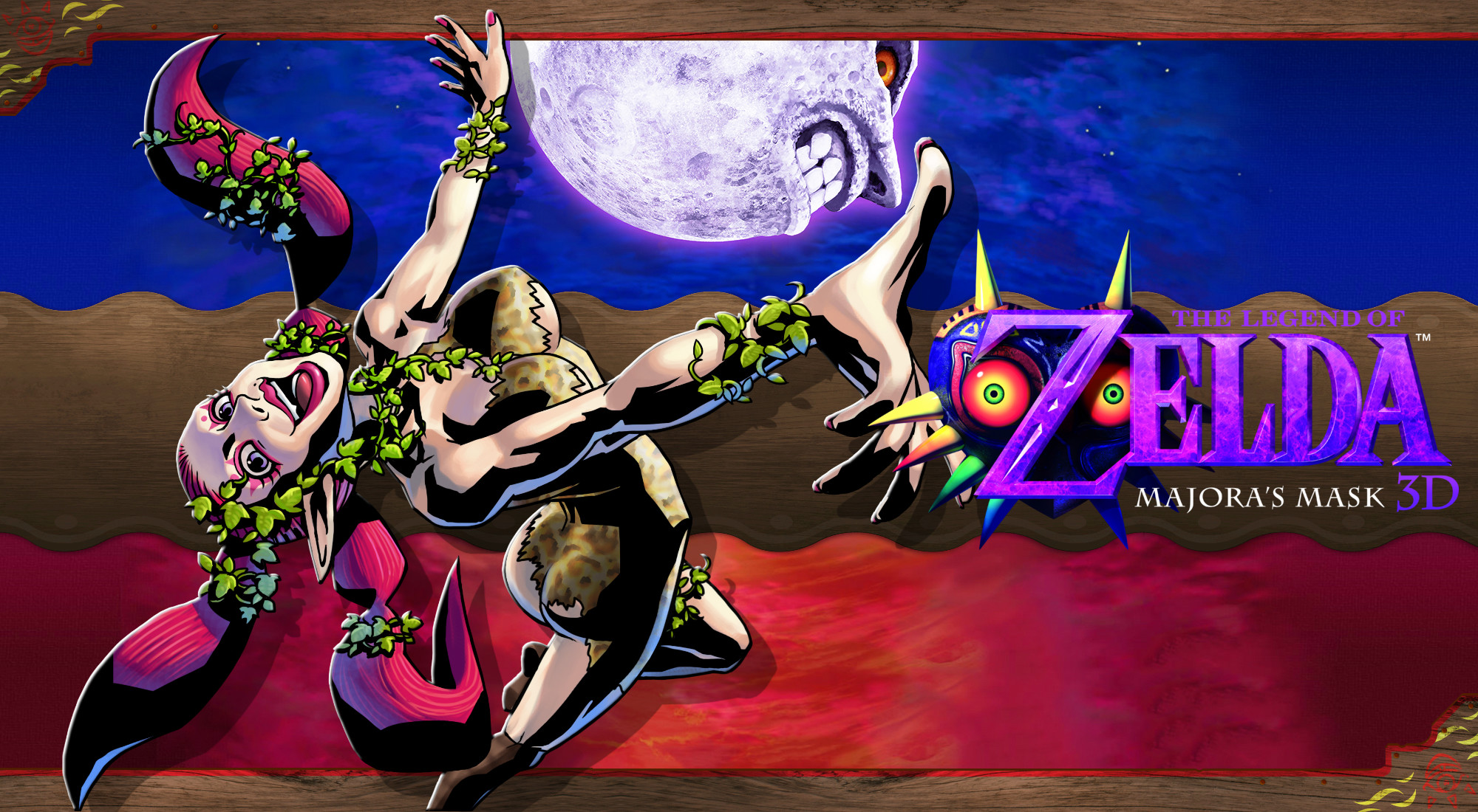 Res: 2000x1100, ... Majora's Mask 3D Wallpaper - Great Fairy by DaKidGaming