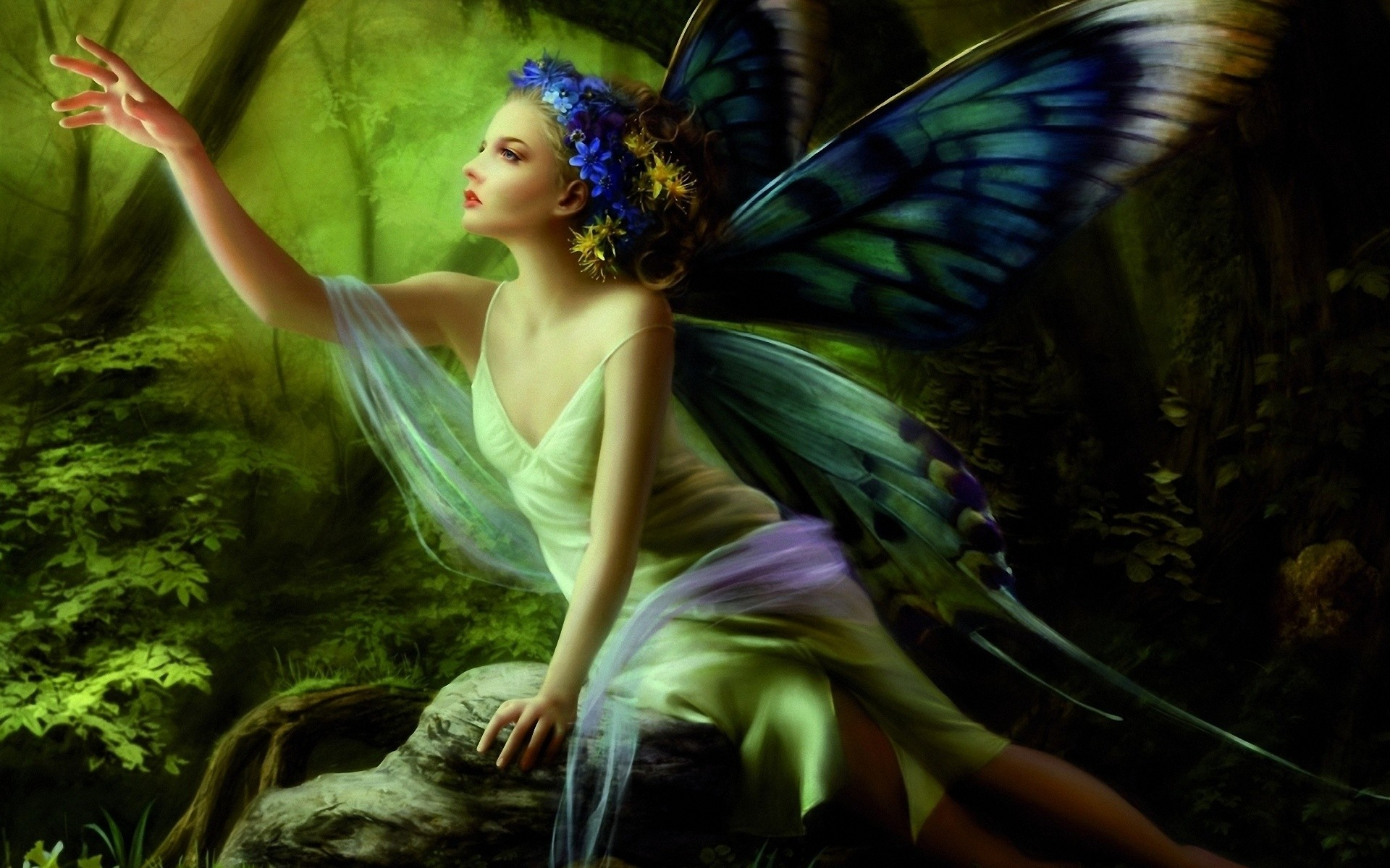 Res: 1920x1200, Cute Fairy Pictures (26)