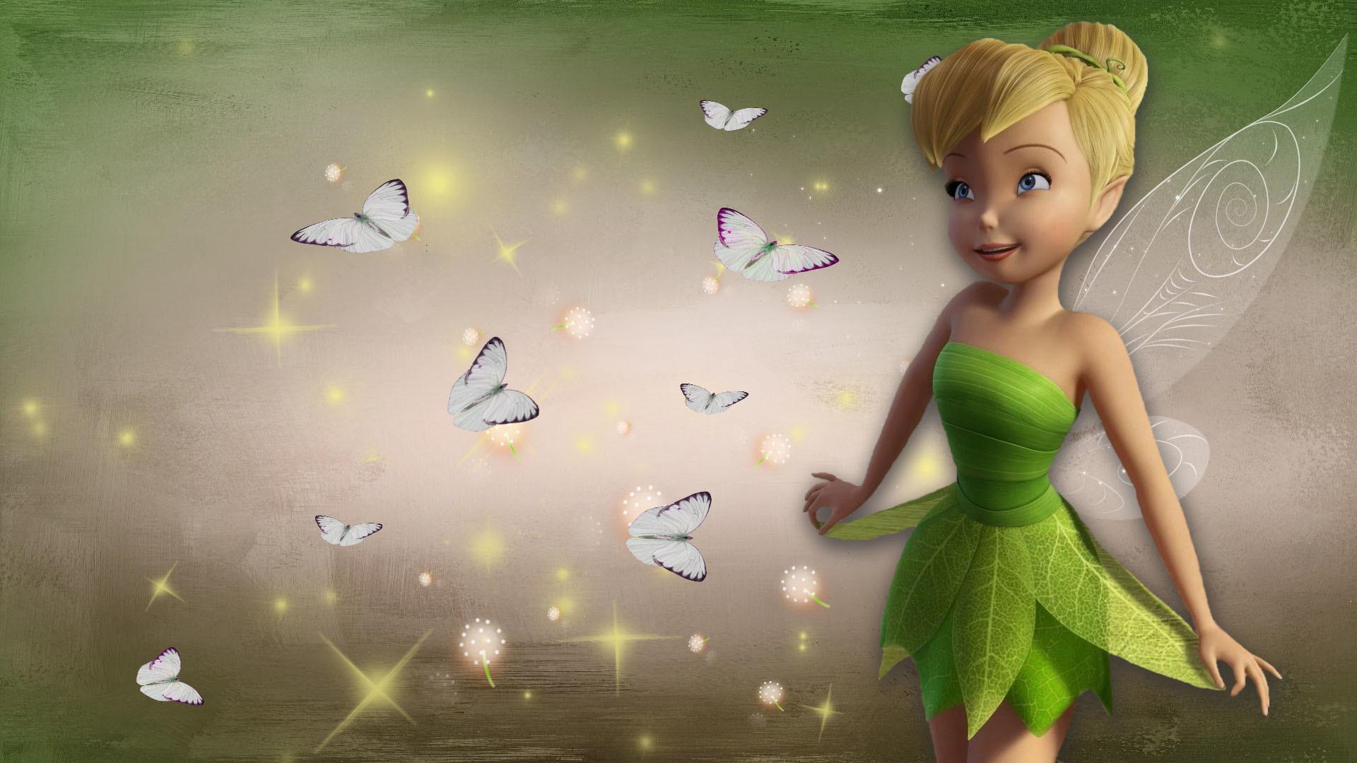 Res: 1920x1080, HD Tinkerbell Disney Fairy Wallpaper 1920×1080 Full Size .