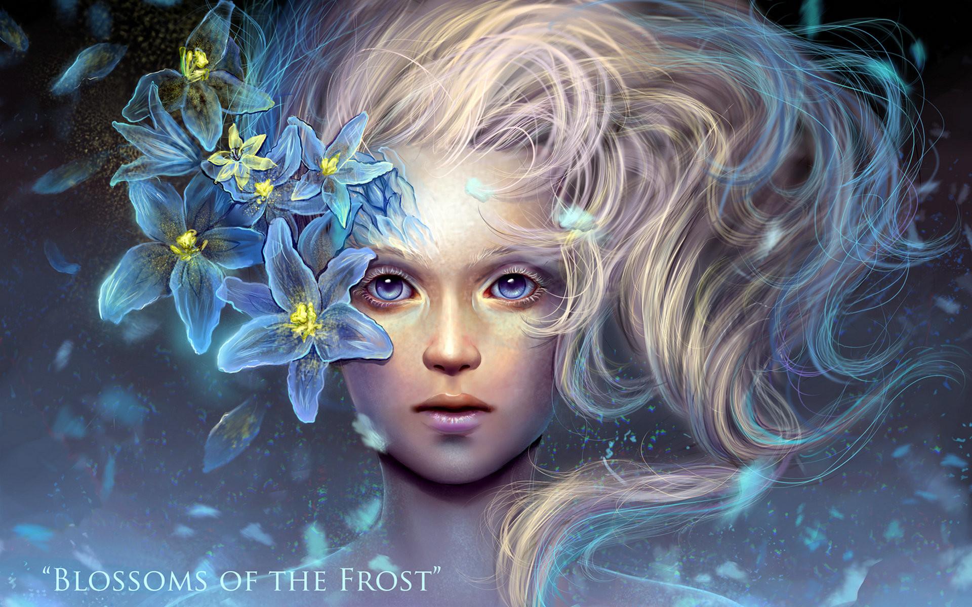 Res: 1920x1200, ... Lily Fairy Face Free Desktop Wallpaper X ...