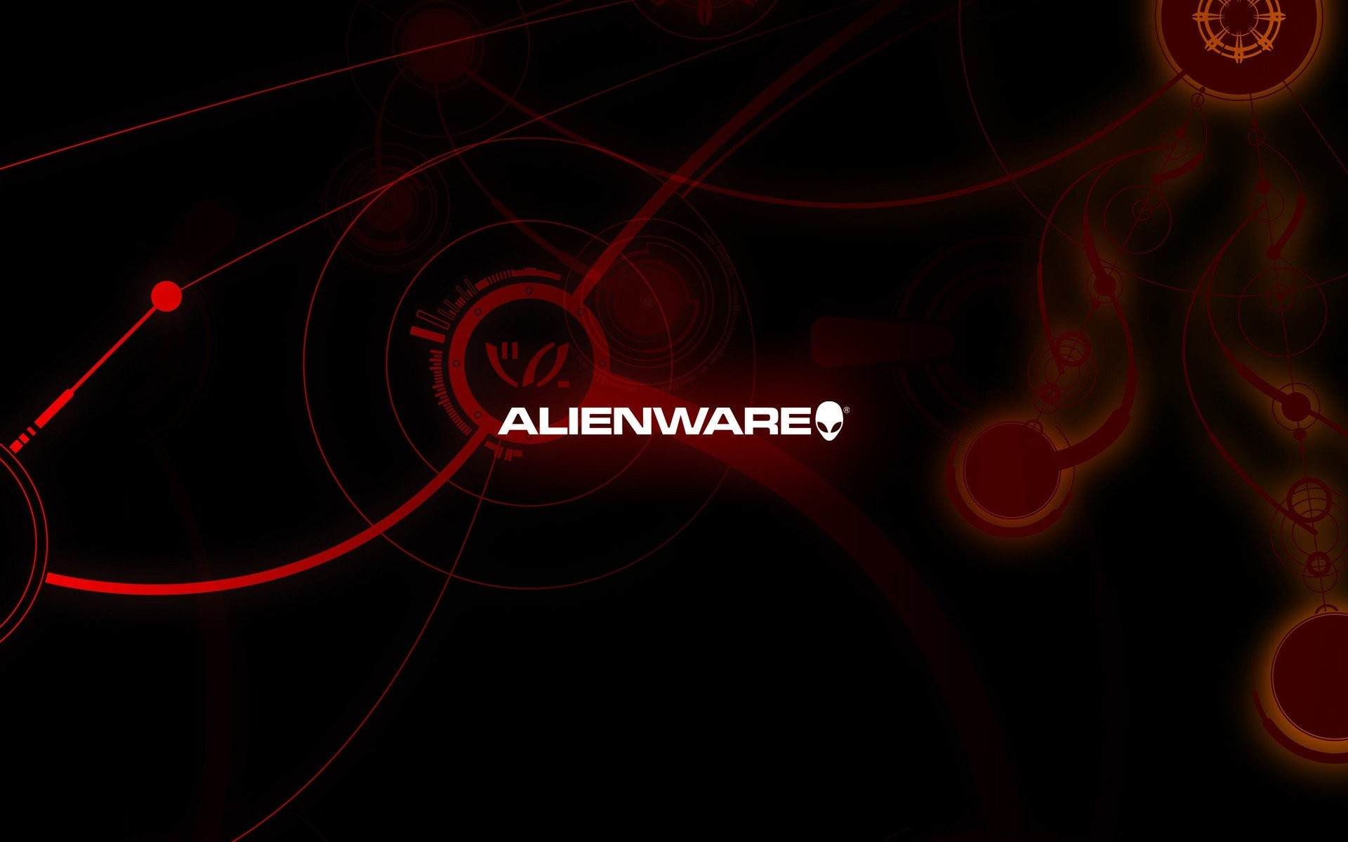 Res: 1920x1200, alienware red