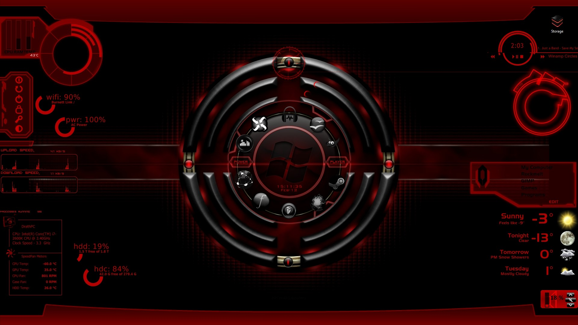 Res: 1920x1080, alienware wallpaper 1920x1200 - Black and Red Windows 7 Theme