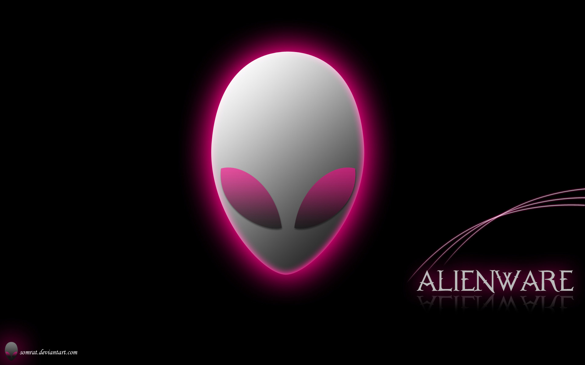 Res: 1920x1200, ... Alienware Red Hd