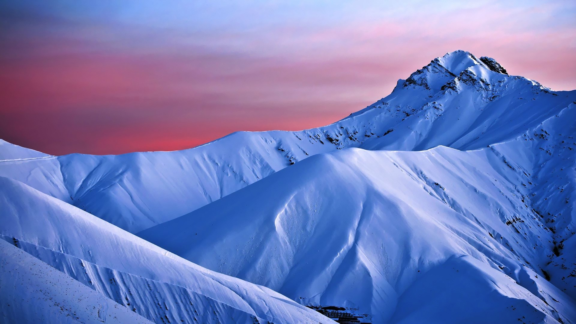 Res: 1920x1080, Snowy Mountains Backgrounds Download Free - wallpaper.wiki