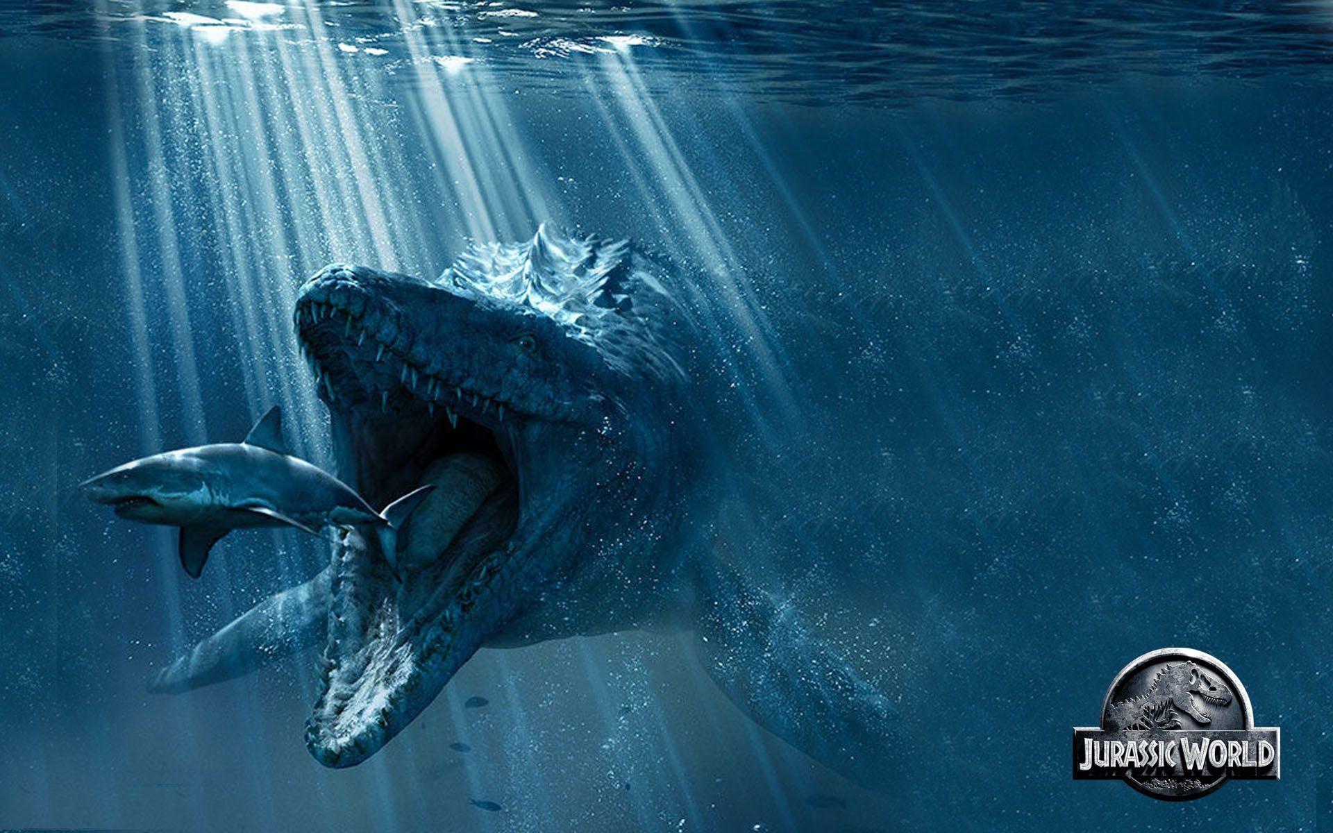Res: 1920x1200, Jurassic World Mosasaurus Wallpaper