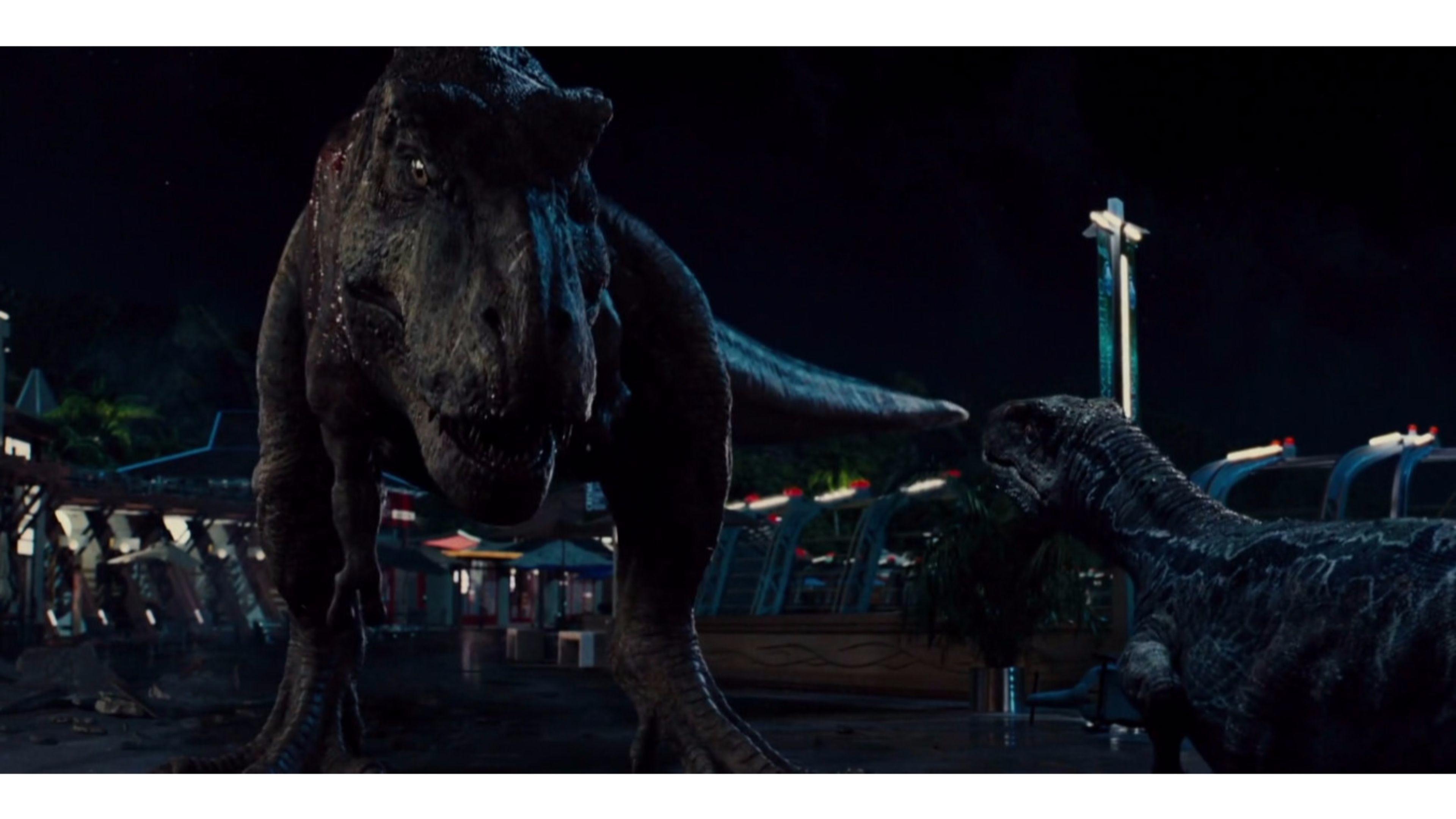 Res: 3840x2160, Creative Jurassic World 4K Wallpaper