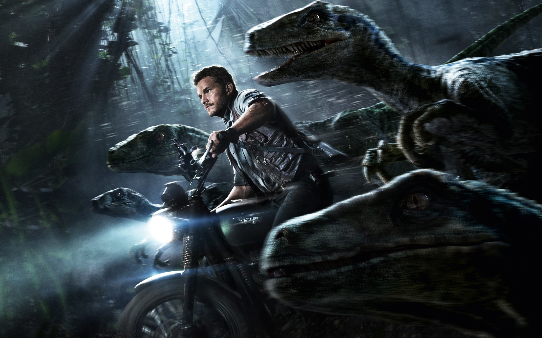 Res: 2880x1800, Jurassic World Chris Pratt