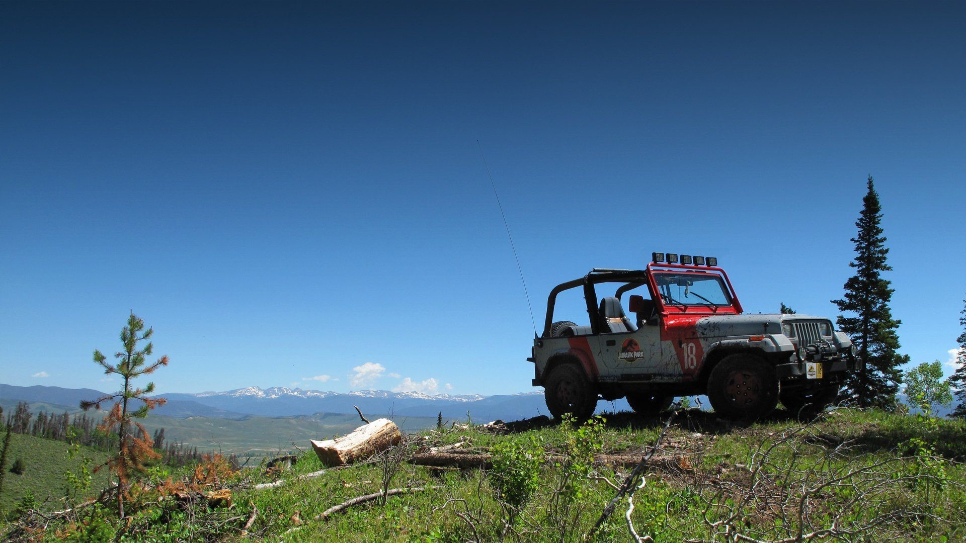 Res: 1920x1080, Jurassic Park Jeep-To the Top wallpaper |  | 563920 .