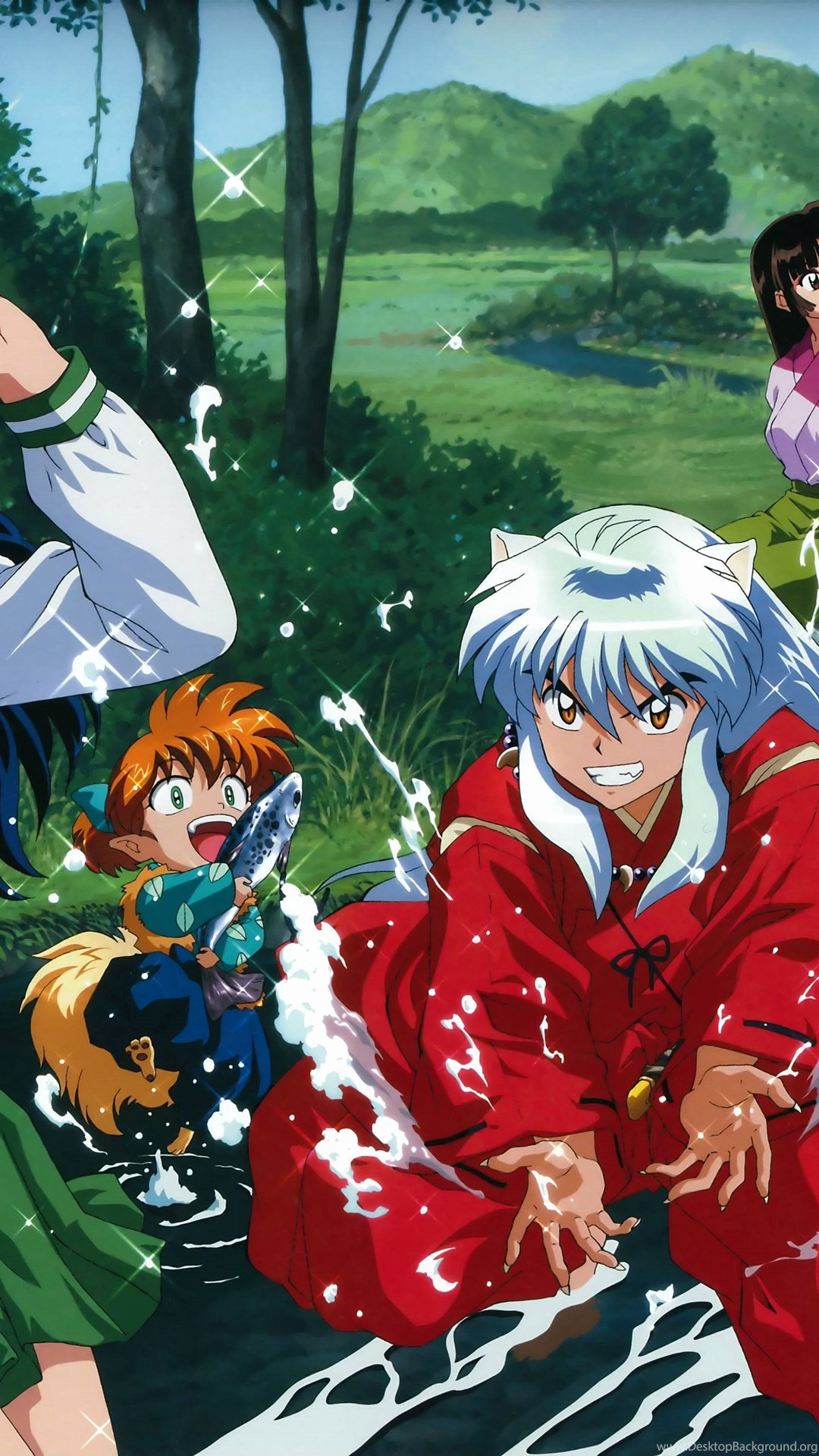 Res: 1080x1920, Inuyasha and Kagome Wallpaper – Inuyasha Hd Wallpapers Ampquotampquot Page  0 Desktop Background