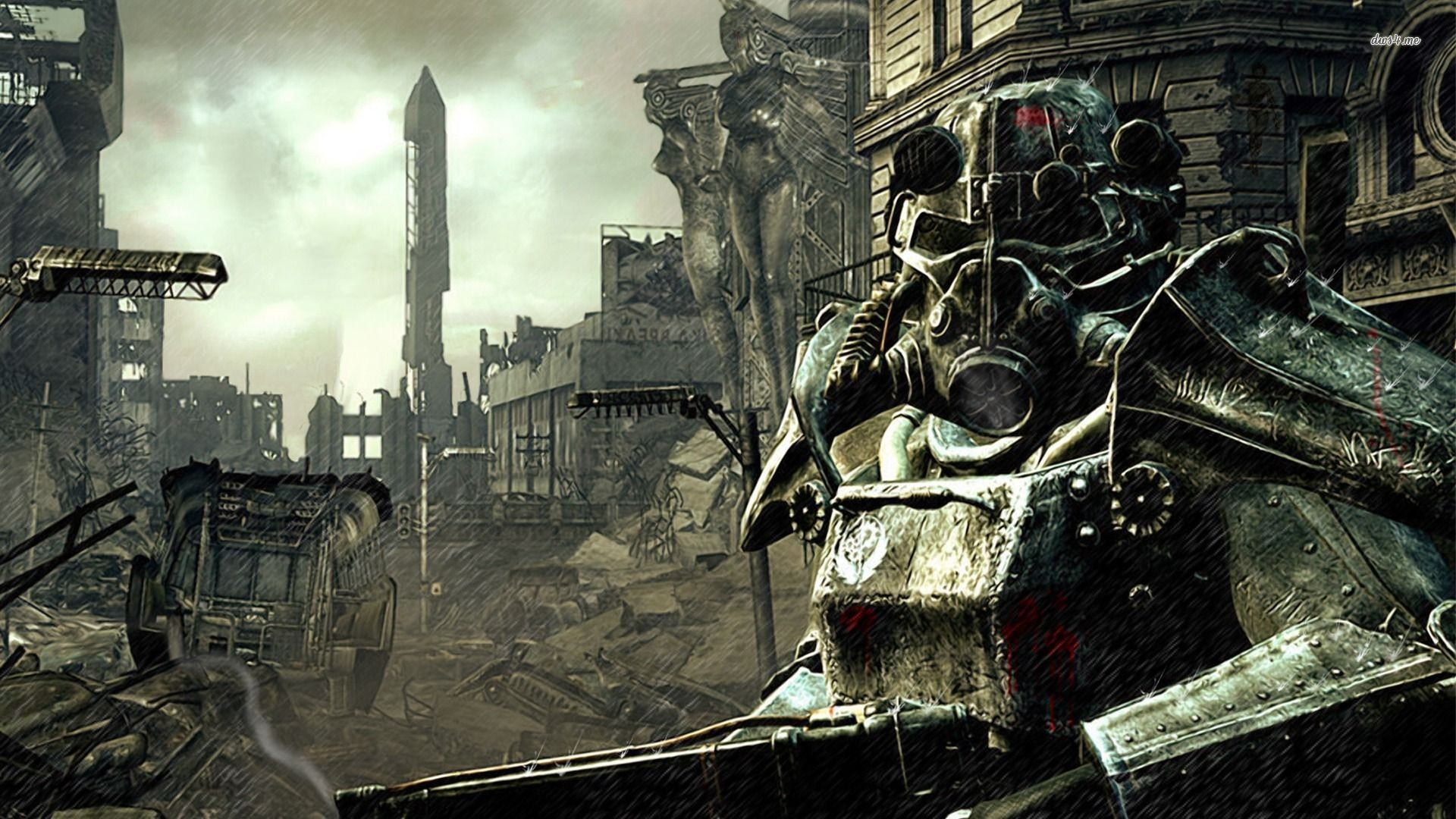 Res: 1920x1080, Fallout 3