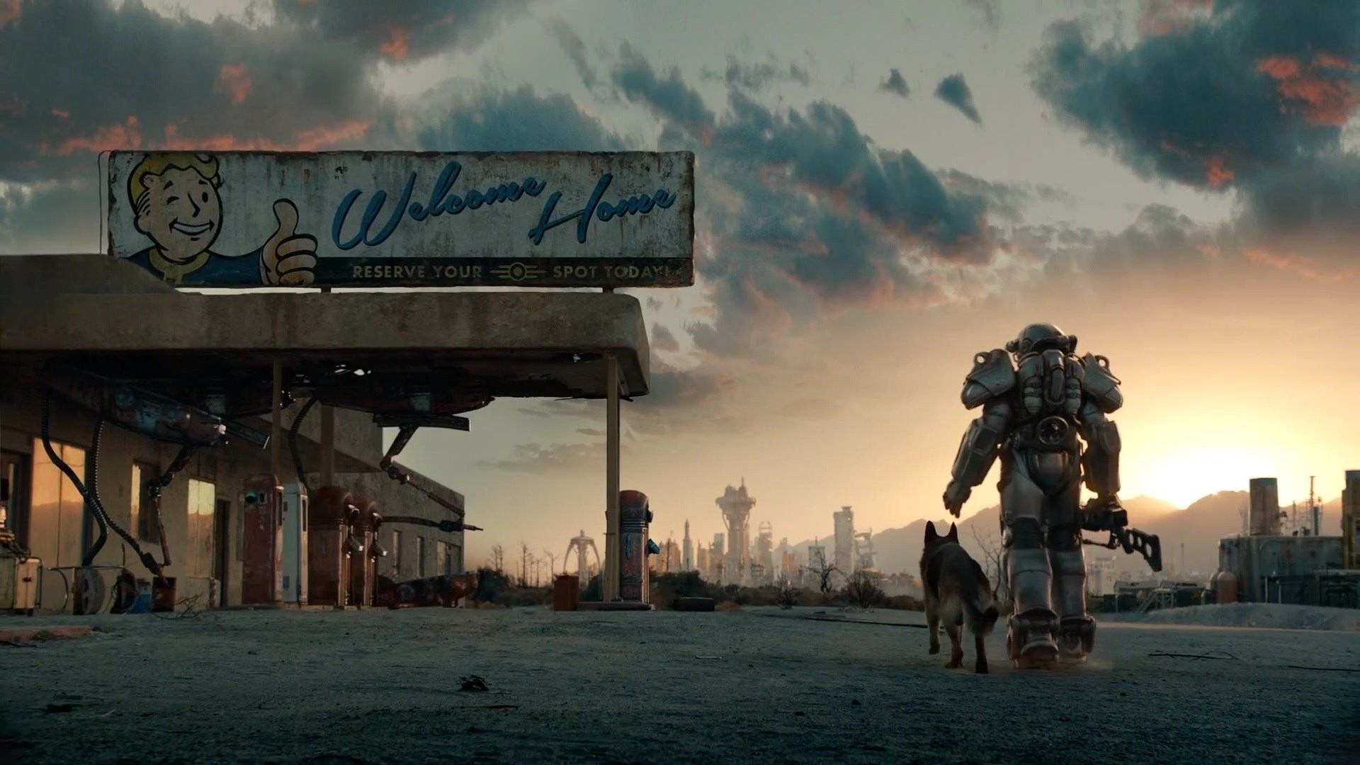 Res: 1920x1080, Fallout 4 PS4 Wallpapers