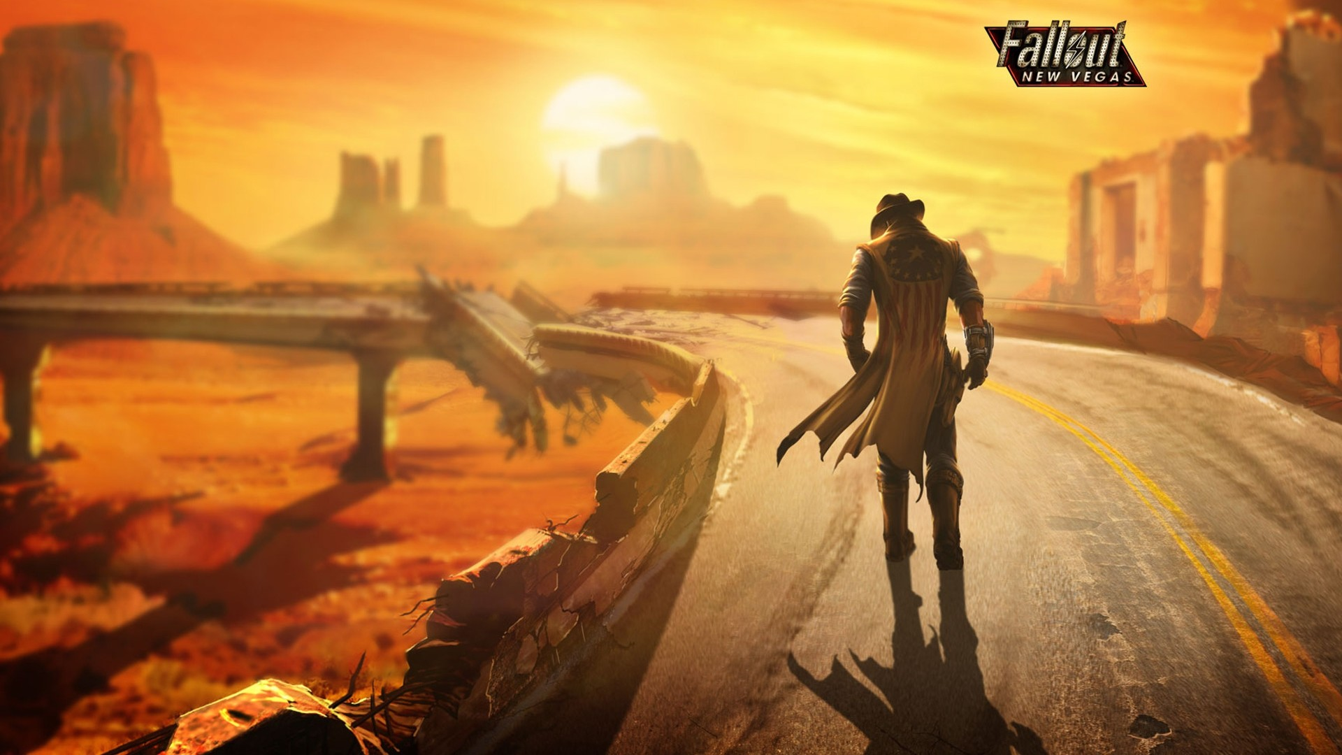 Res: 1920x1080, Fallout A New Vegas Game Beautiful Wallpapers 2015 ...
