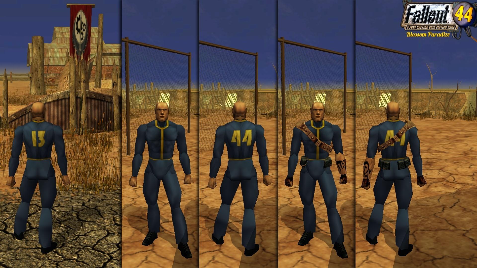 Res: 1920x1080, Fallout 44 - Vault Dweller Suit