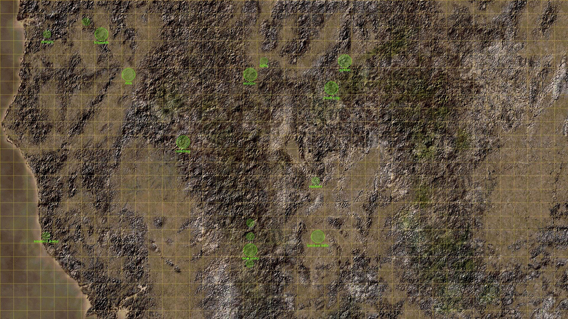 Res: 1920x1080, ... Fallout 1 World Map Most Wanted Fallout Maps World Map 2 Line Fonline  Wallpaper Throughout ...