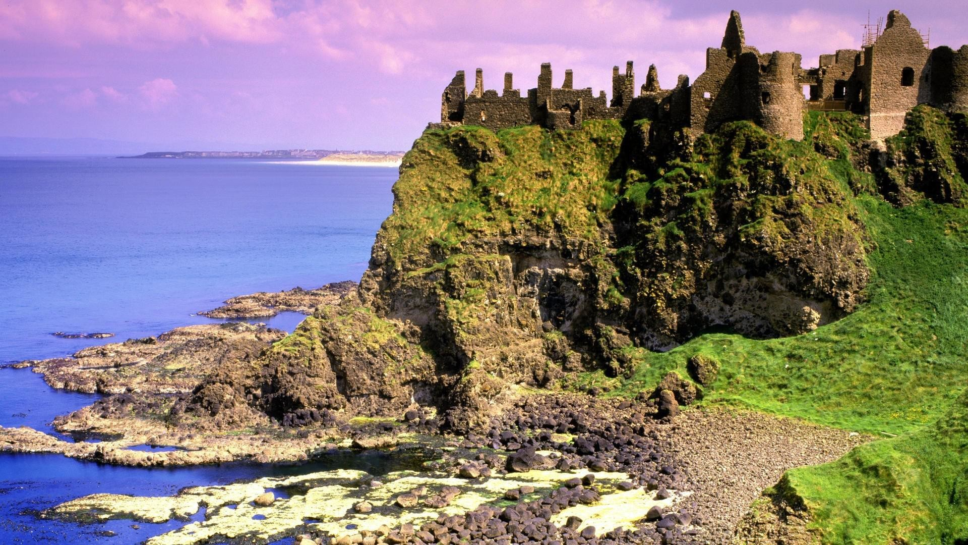 Res: 1920x1080, ... Irish Castle Wallpaper download ...