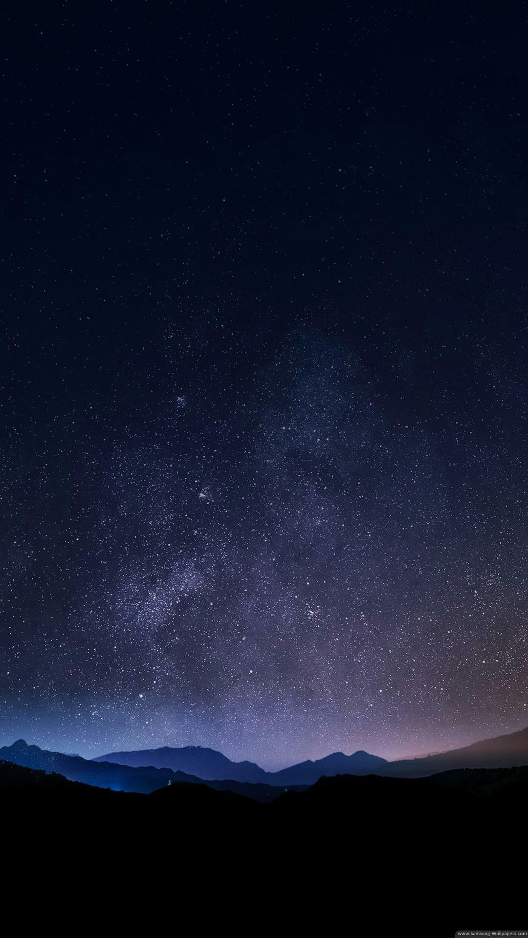 Res: 1080x1920,  Star Sky Landscapes Stock  Samsung Galaxy S5 Wallpaper HD  .