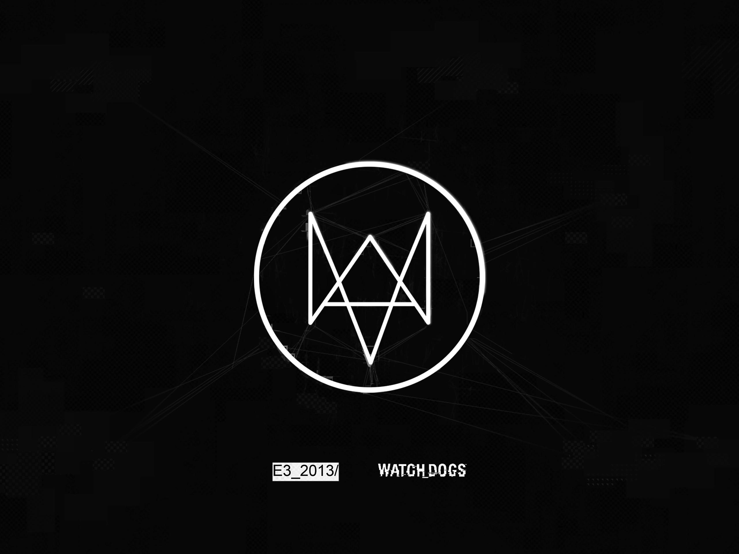 Res: 2560x1920, Watch Dogs Nexus Logo