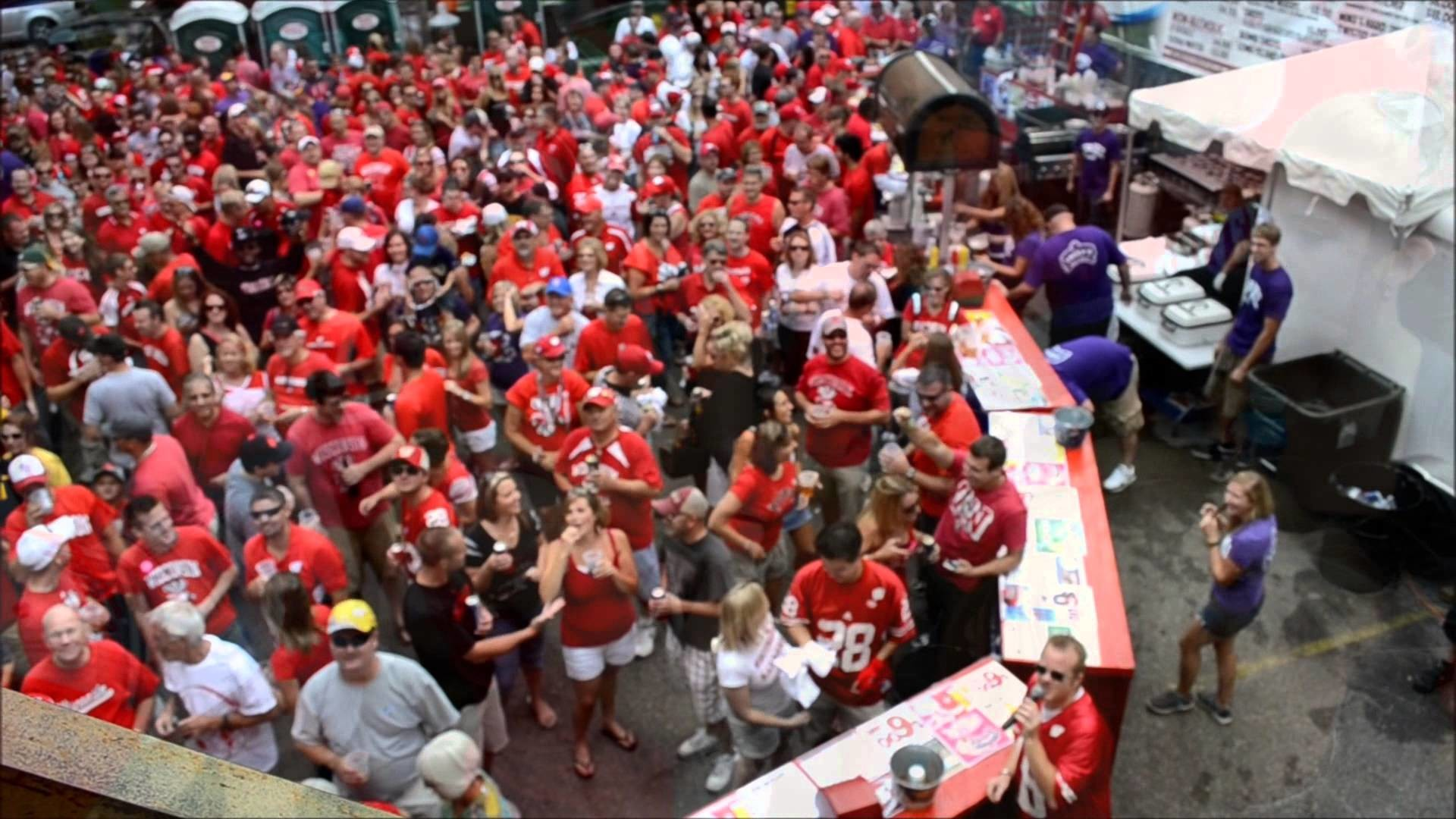 Res: 1920x1080, Badger Tailgate Party @ Lucky's