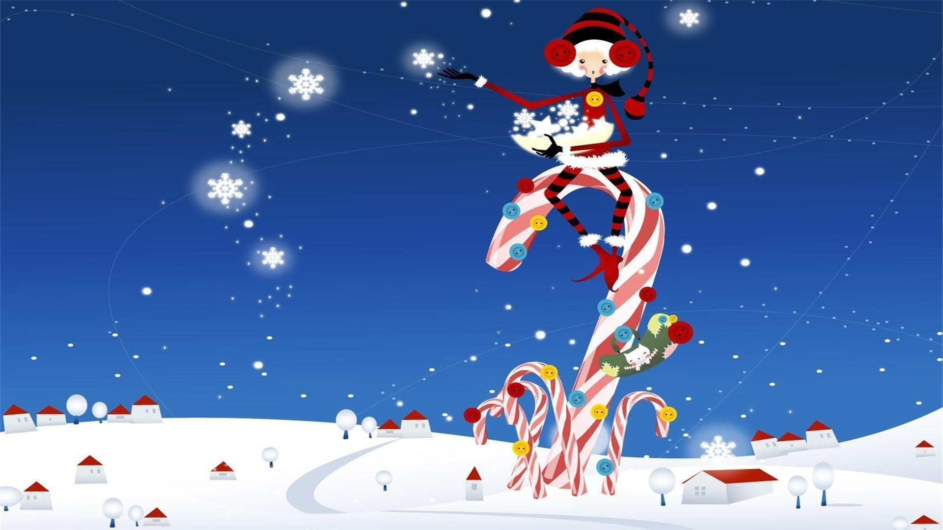 Res: 1920x1080, Funny-Christmas-Wallpaper- .