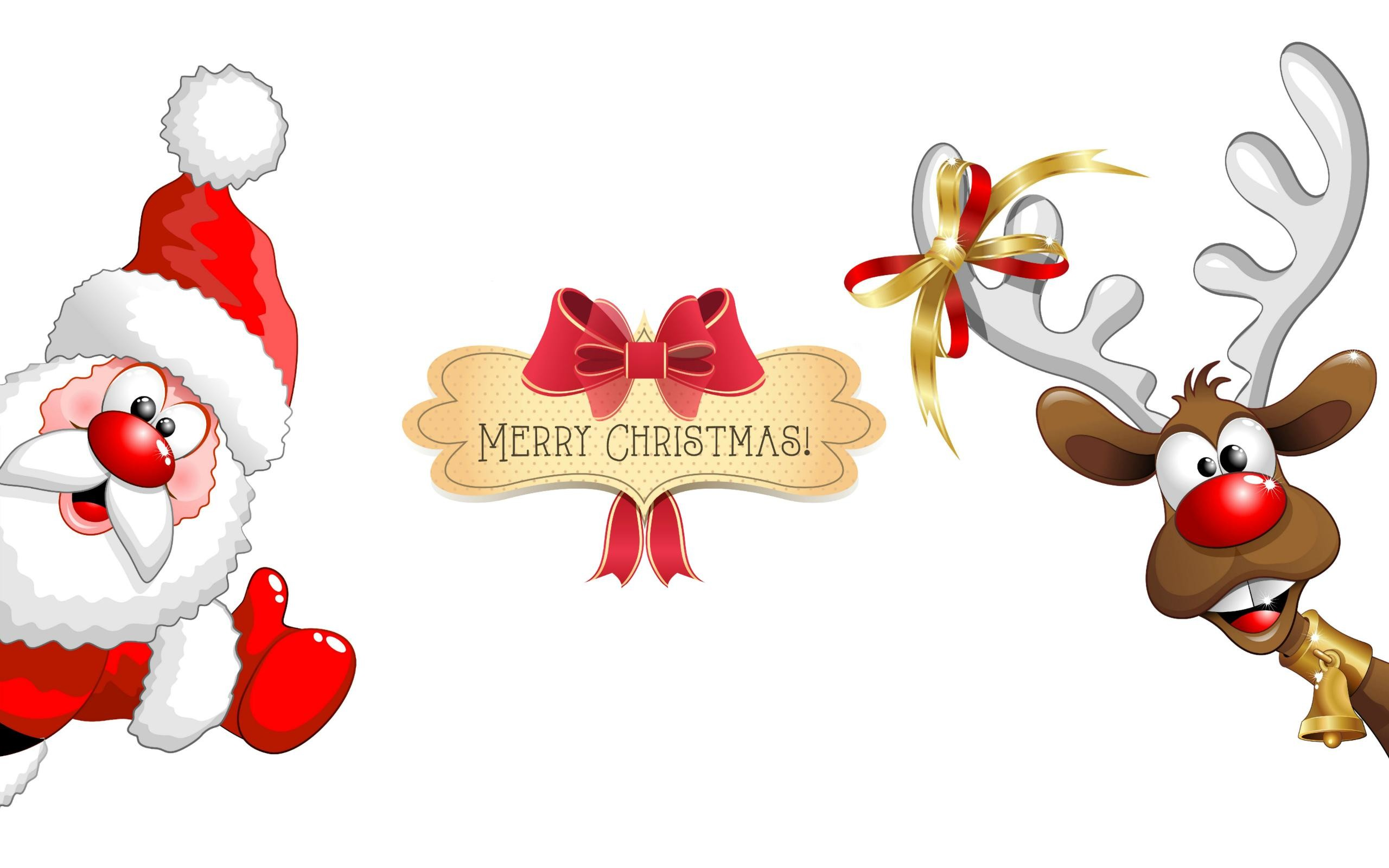 Res: 2560x1600, Latest Funny Wallpaper Download Of Marry Christmas in UHD