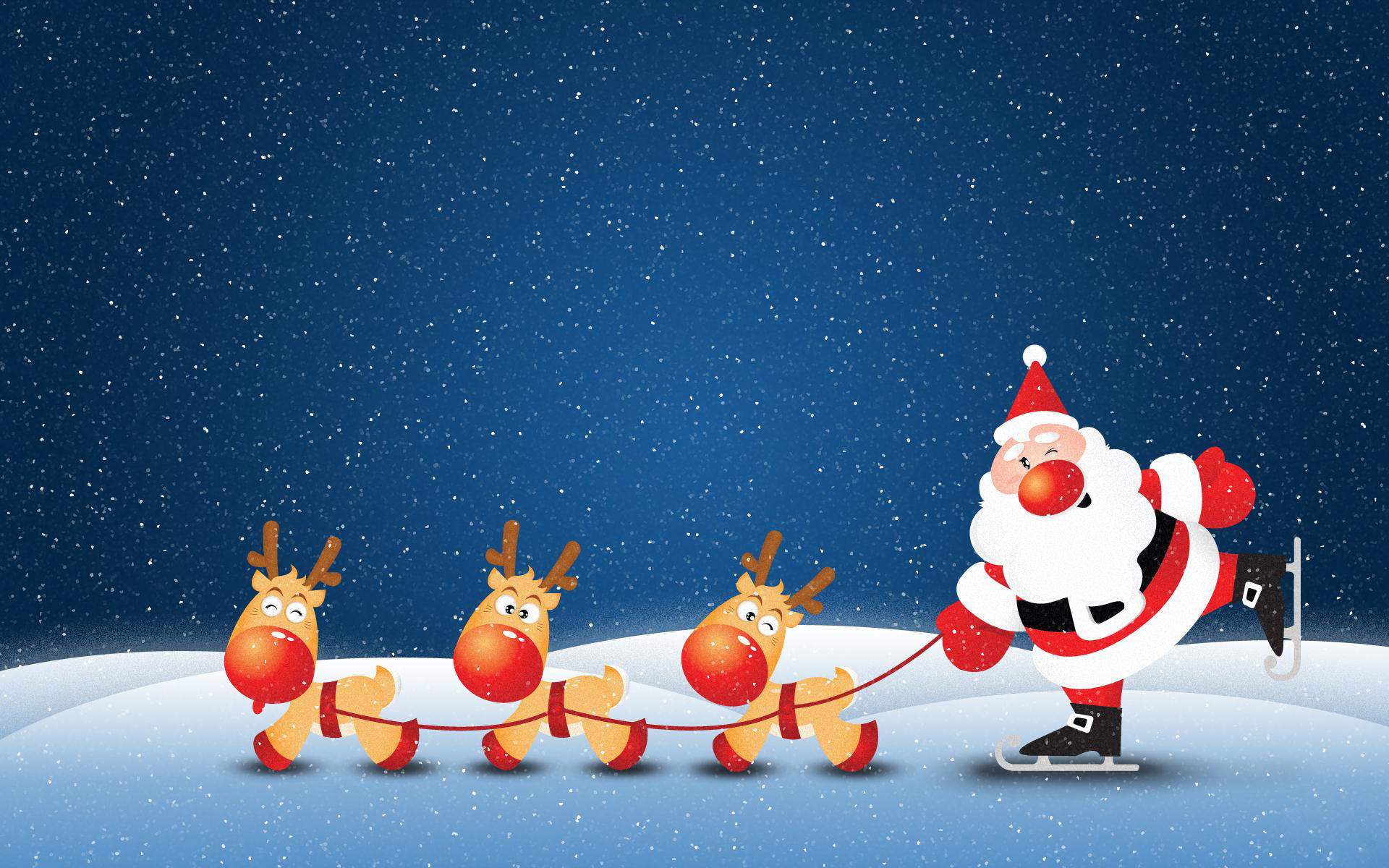 Res: 1920x1200, Funny Christmas Santa Wallpaper.