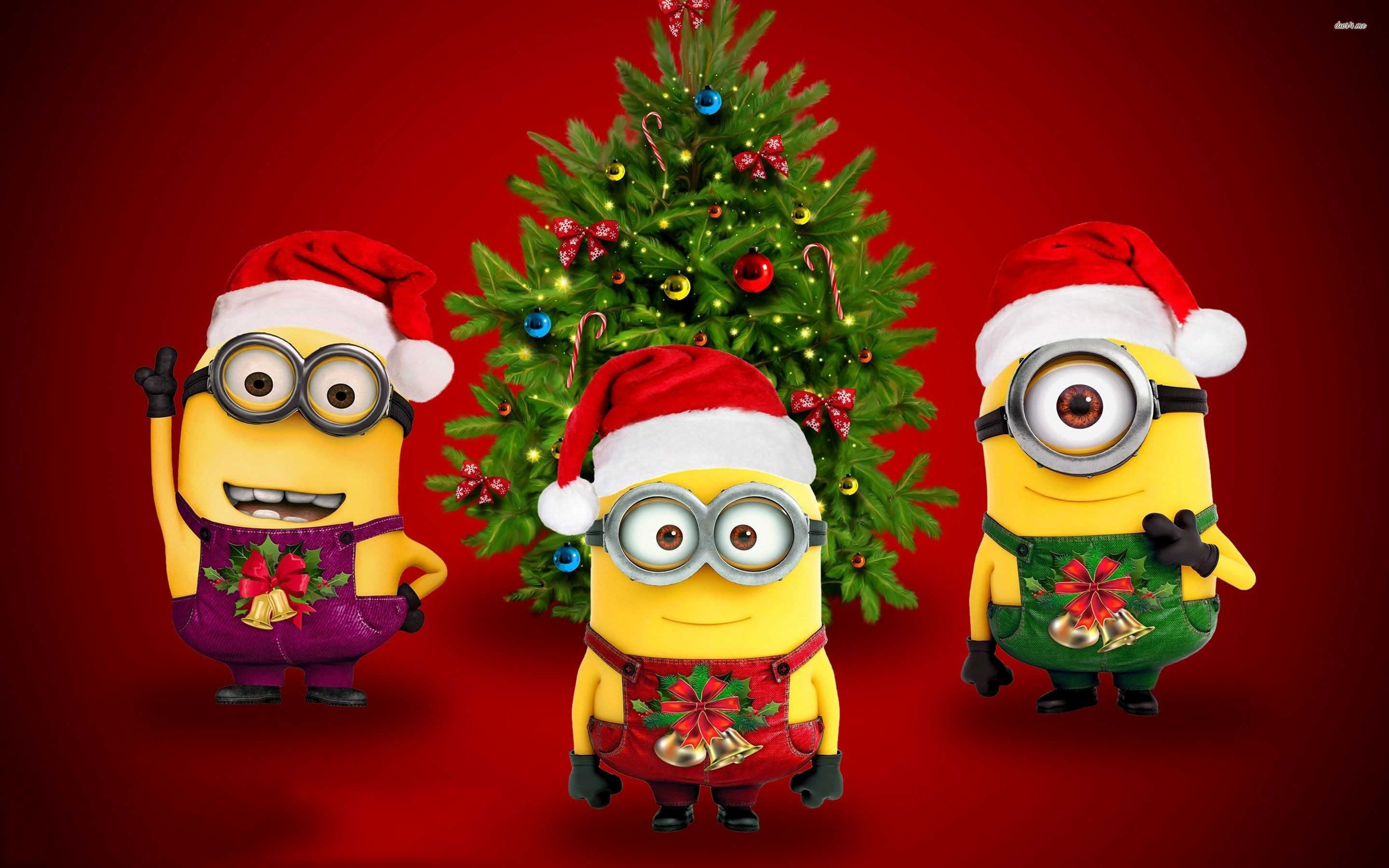 Res: 2880x1800, Merry christmas minions wallpaper - Holiday wallpapers - #34001