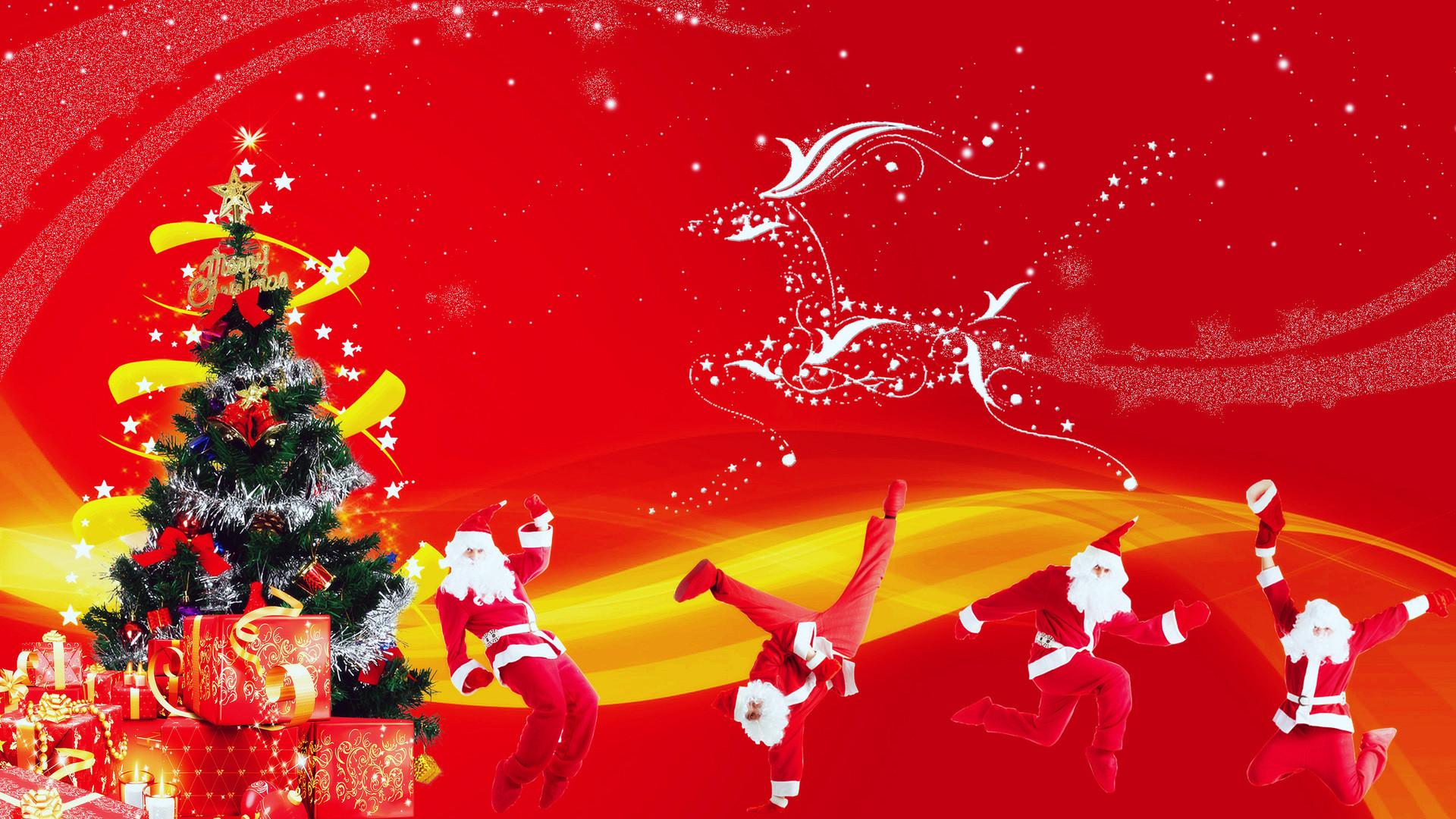 Res: 1920x1080, Download Funny Christmas Wallpaper Funny Christmas Santa Claus