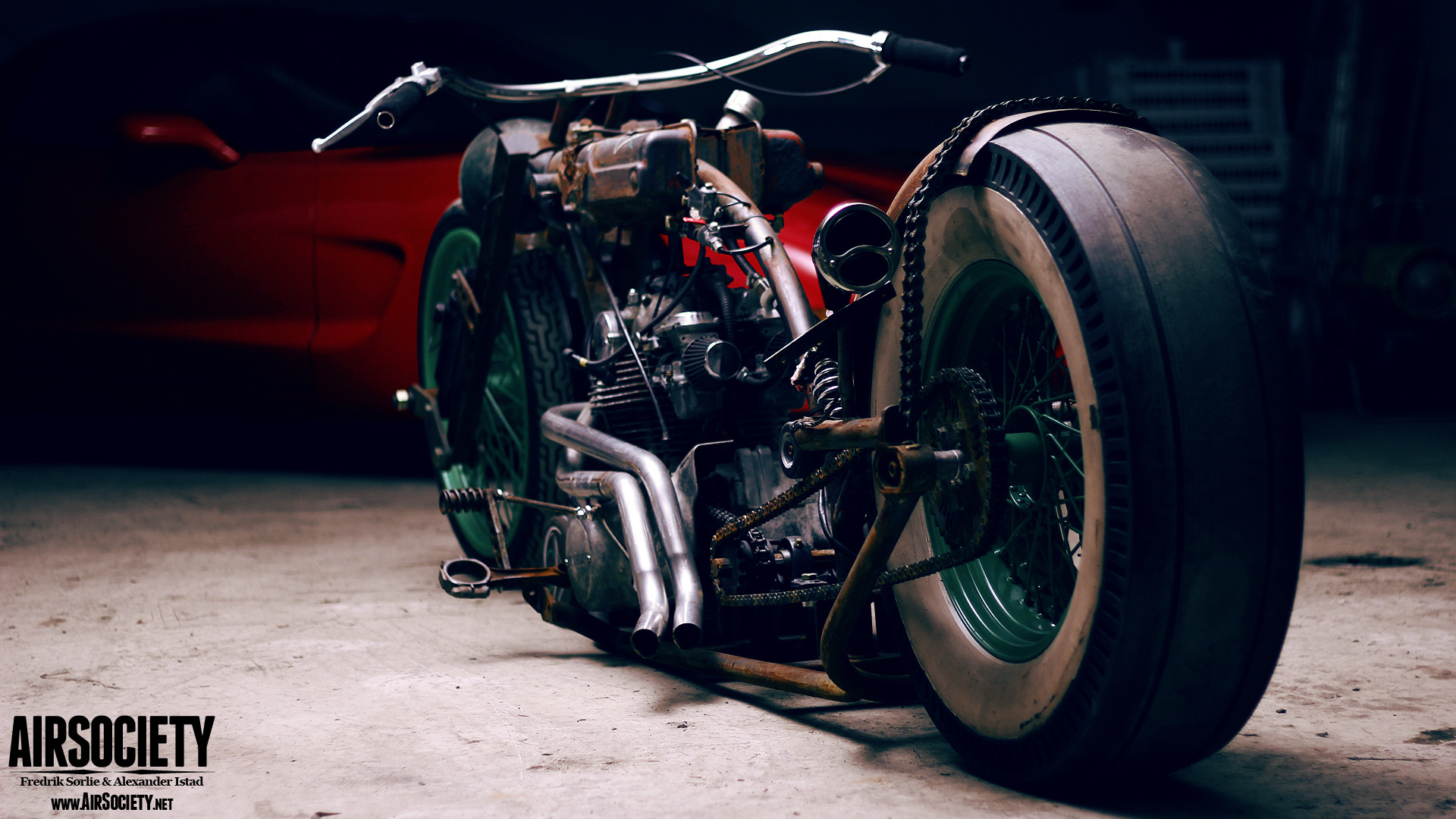 Res: 1920x1080, ... rat-bike-air-ride-suspension-bagged-rust-motorcycle- ...