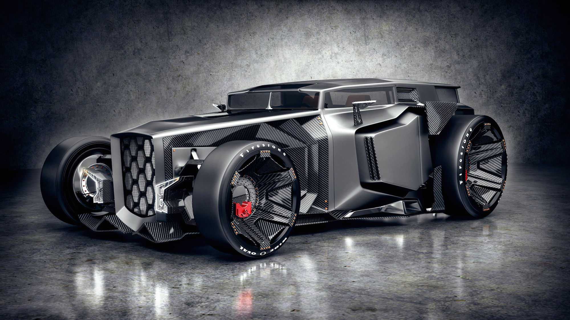Res: 2000x1125, 2015 Lamborghini Rat Rod Concept Wallpaper