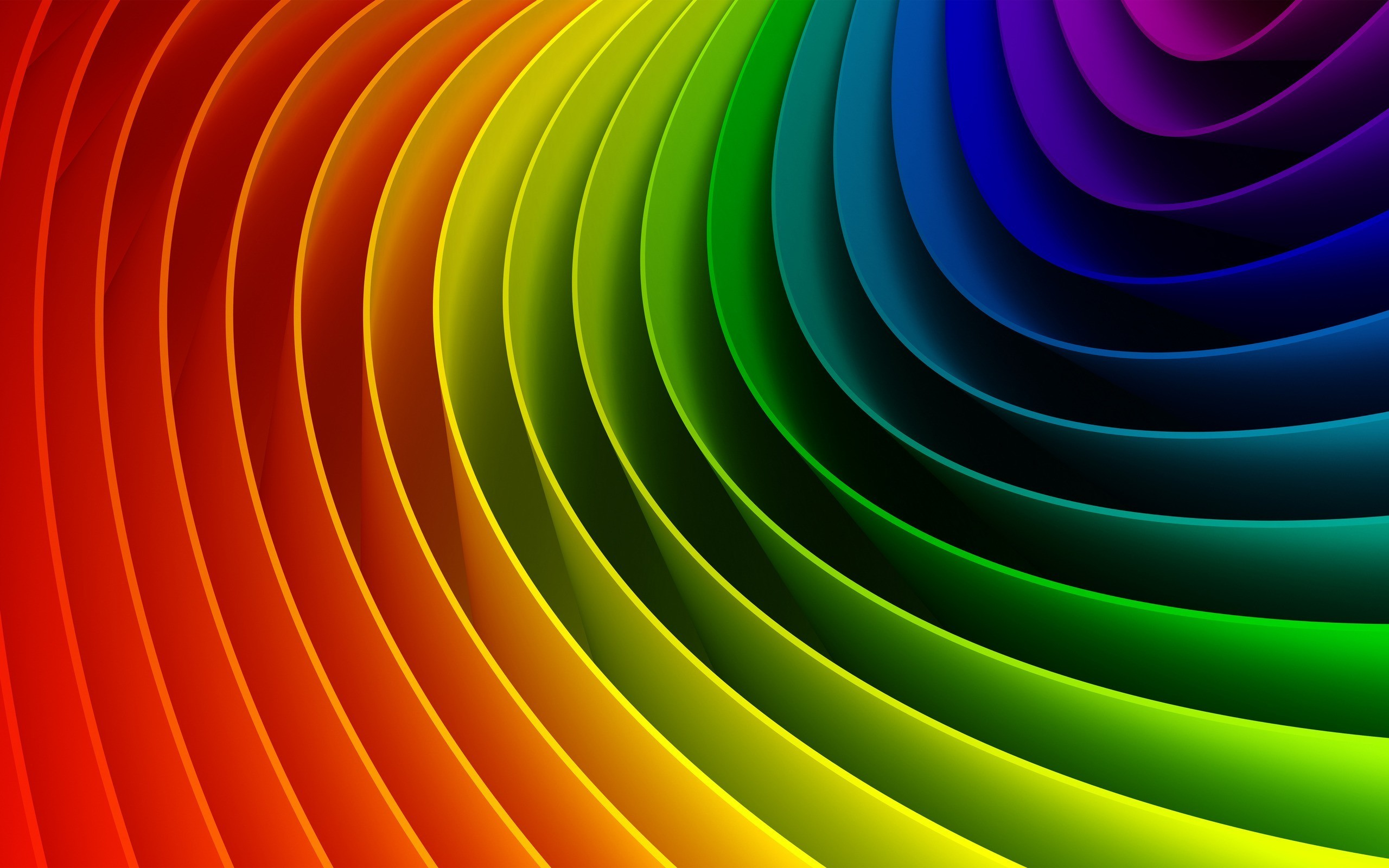 Res: 2560x1600, Download wallpaper: rainbow background, Rainbow, download photo, desktop  wallpapers, rainbow wallpaper