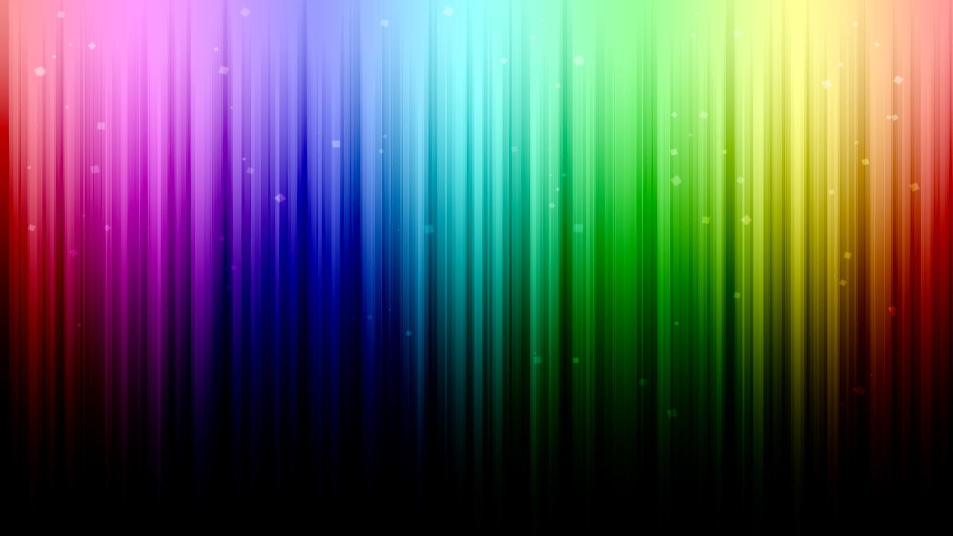 Res: 1920x1080, Abstract Rainbow