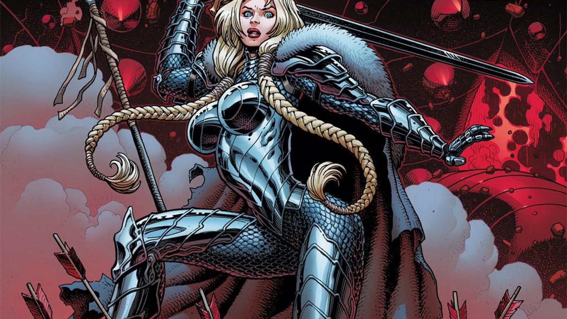 Res: 1920x1080, wallpaper Fear Itself · Marvel Comics · comics girls