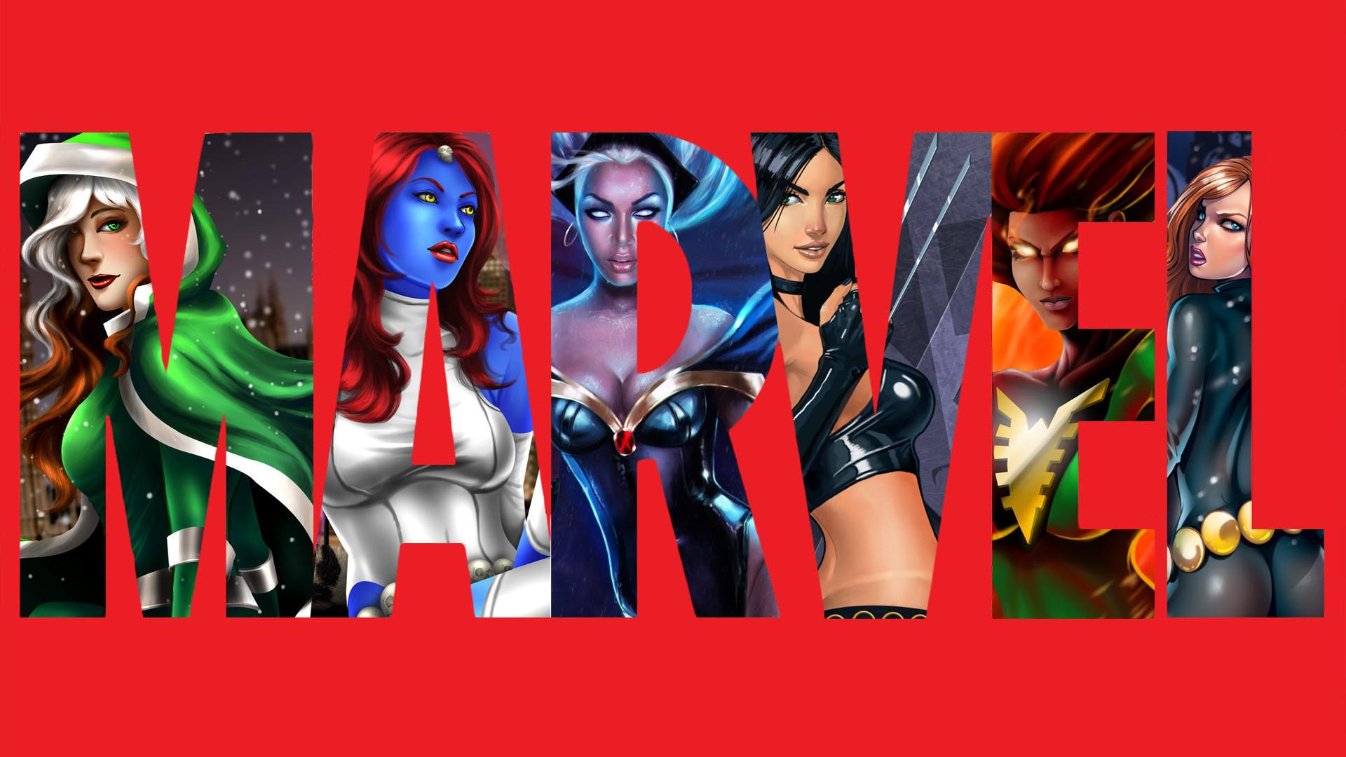 Res: 1920x1080, Marvel Girls