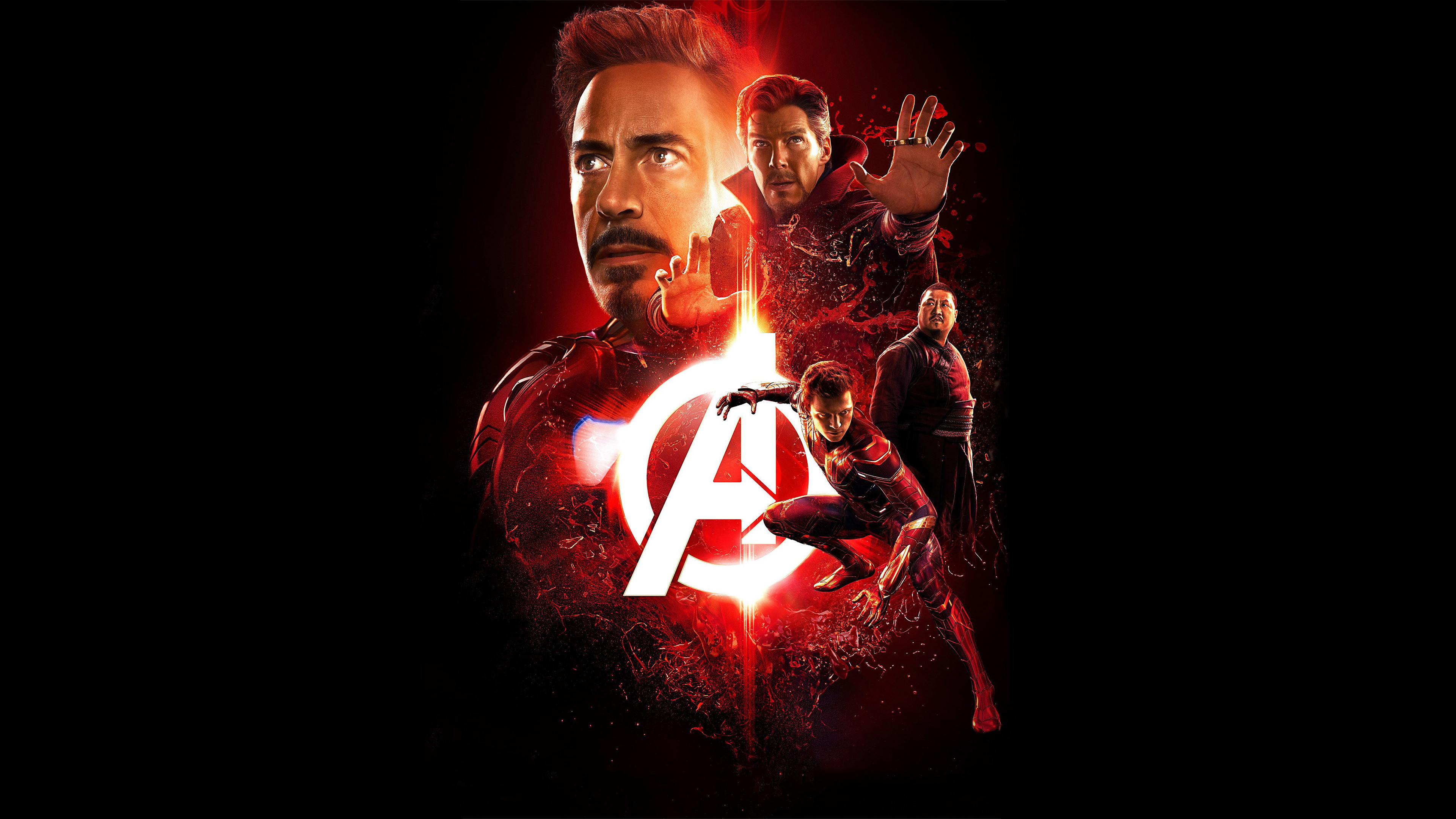 Res: 3840x2160, Avengers Infinity War 2018 Reality Stone Poster 4k