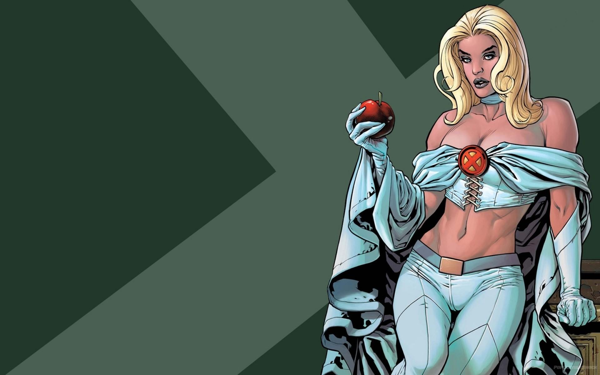 Res: 1920x1200, ... Marvel Comics Comics Girls Emma Frost 1680X1050 Wallpaper People HD ...