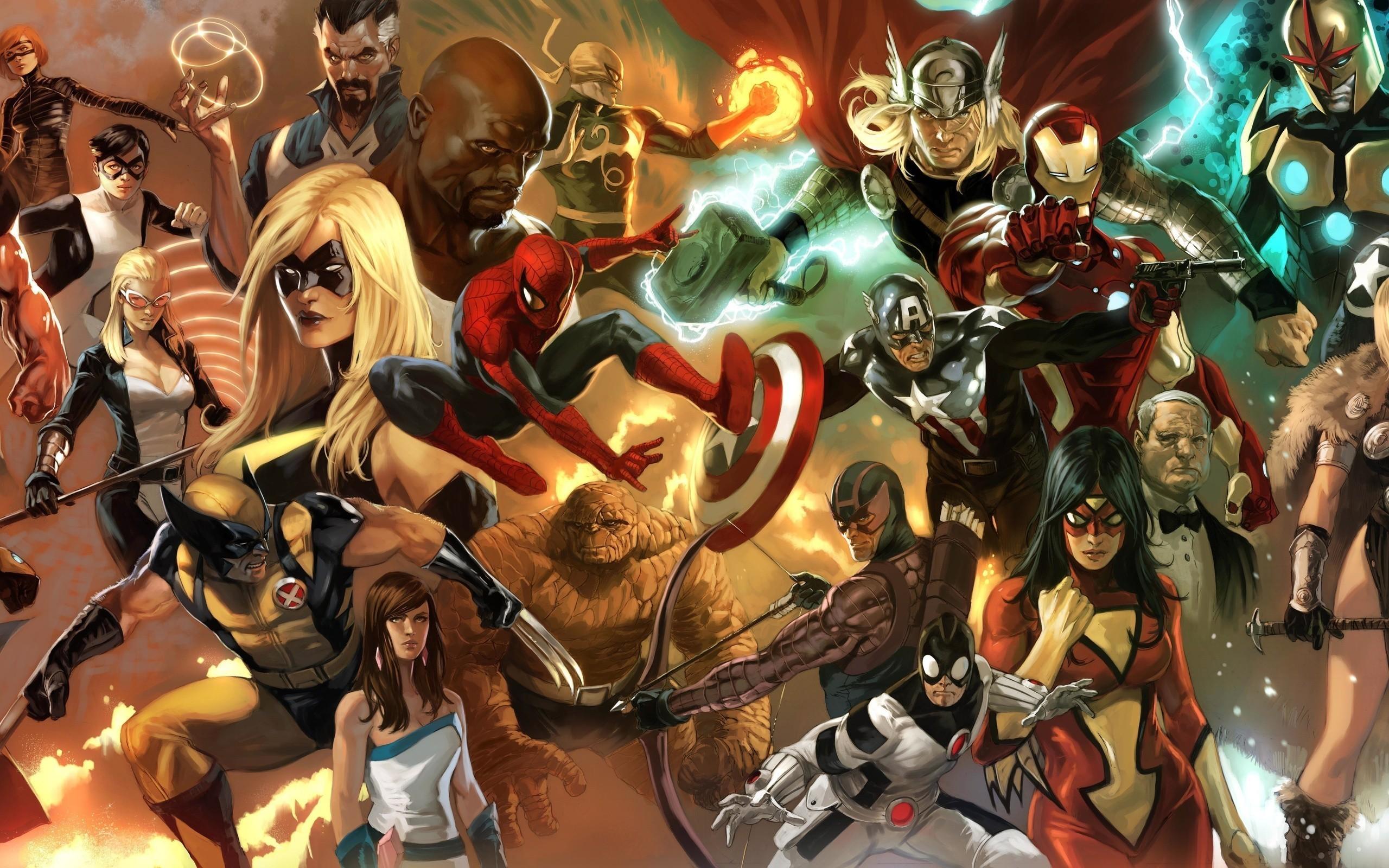Res: 2560x1600, HD Wallpaper | Background Image ID:283337.  Comics Marvel Comics