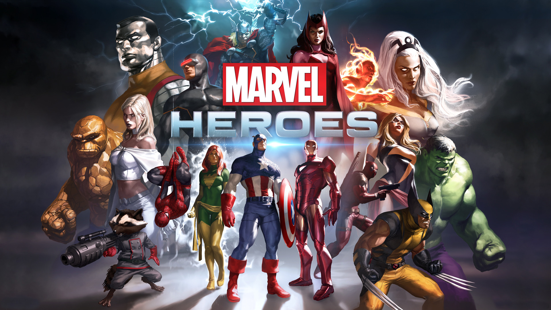 Res: 1920x1080, Marvel Heroes Game