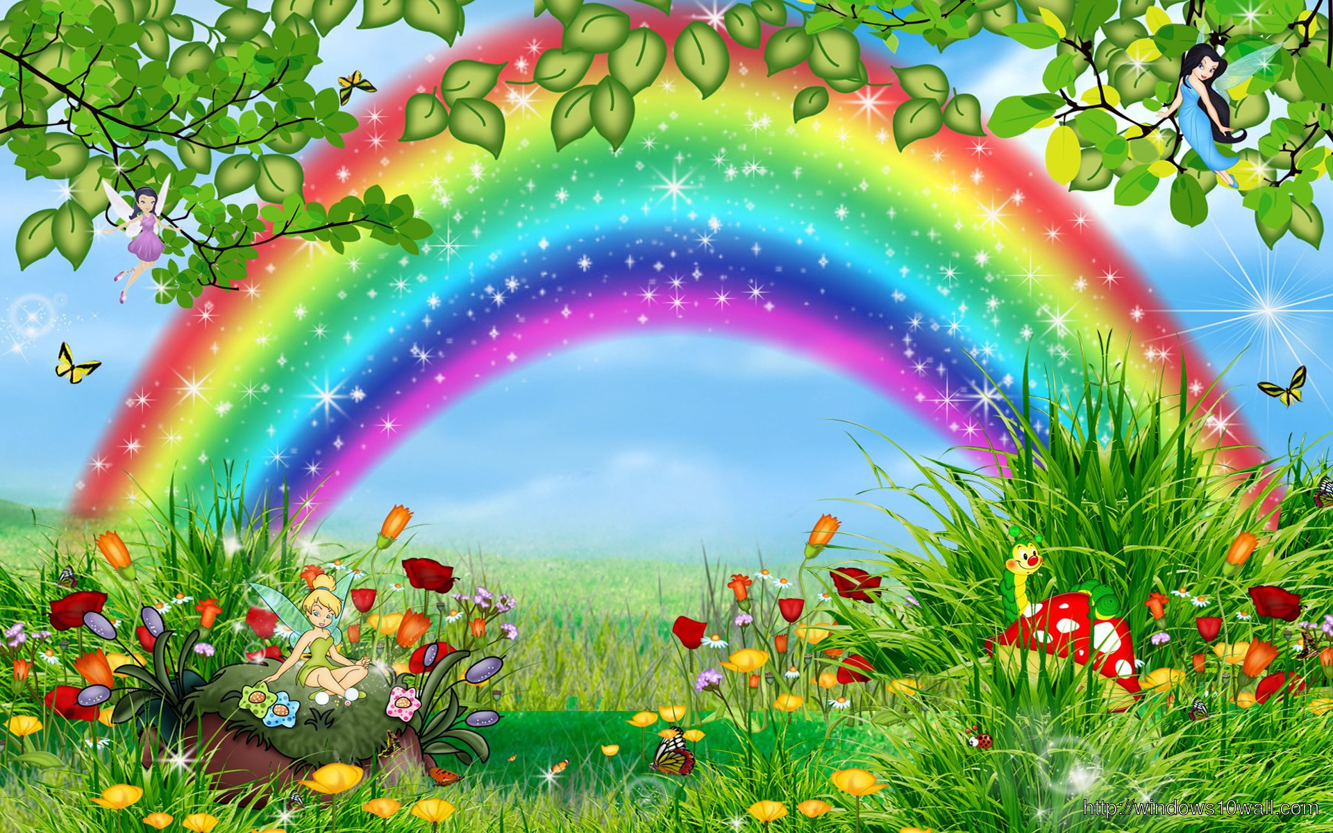 Res: 1920x1200, Animated Rainbow Background Wallpaper