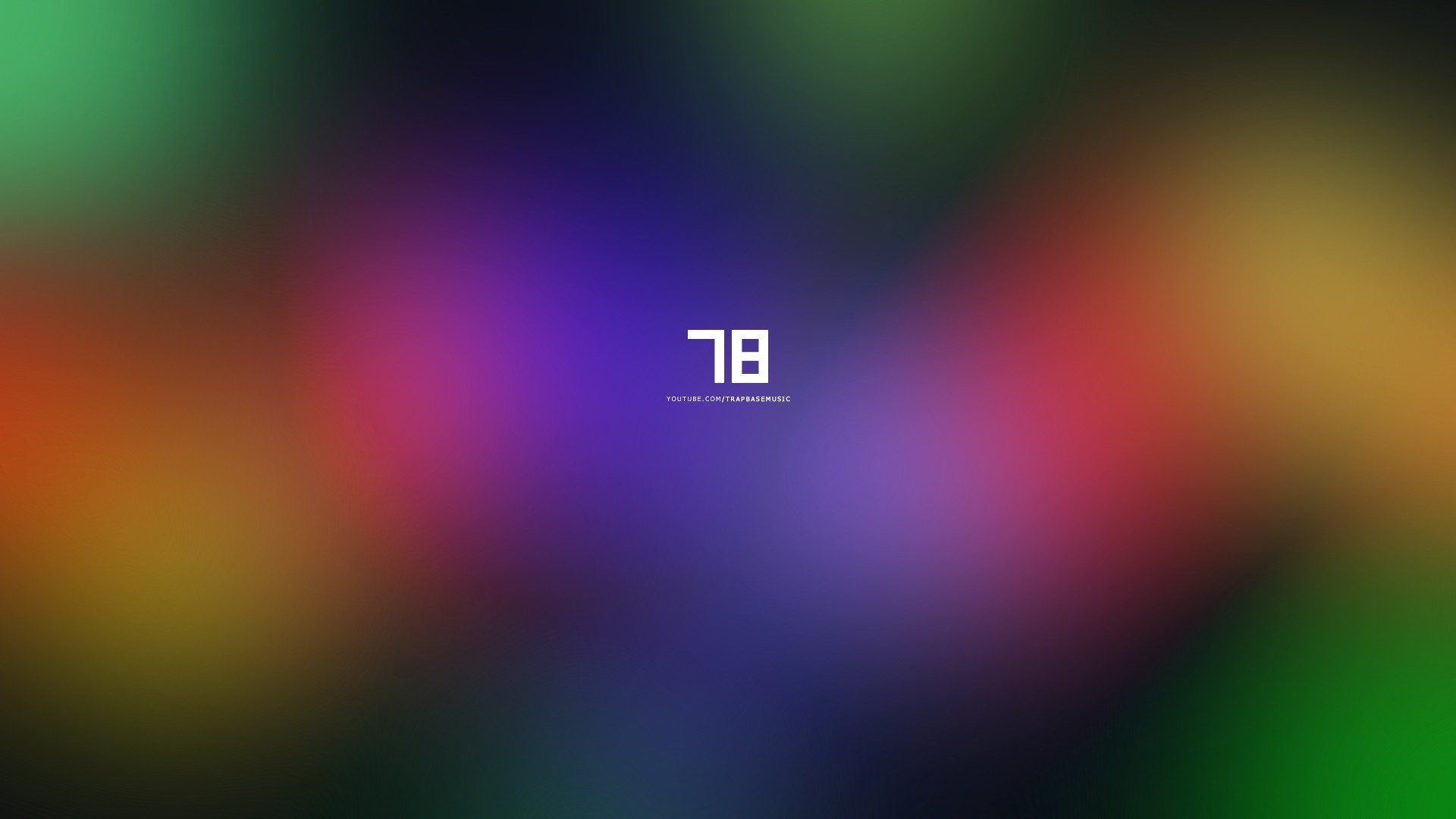 Res: 1920x1080, The number 78 on the rainbow background