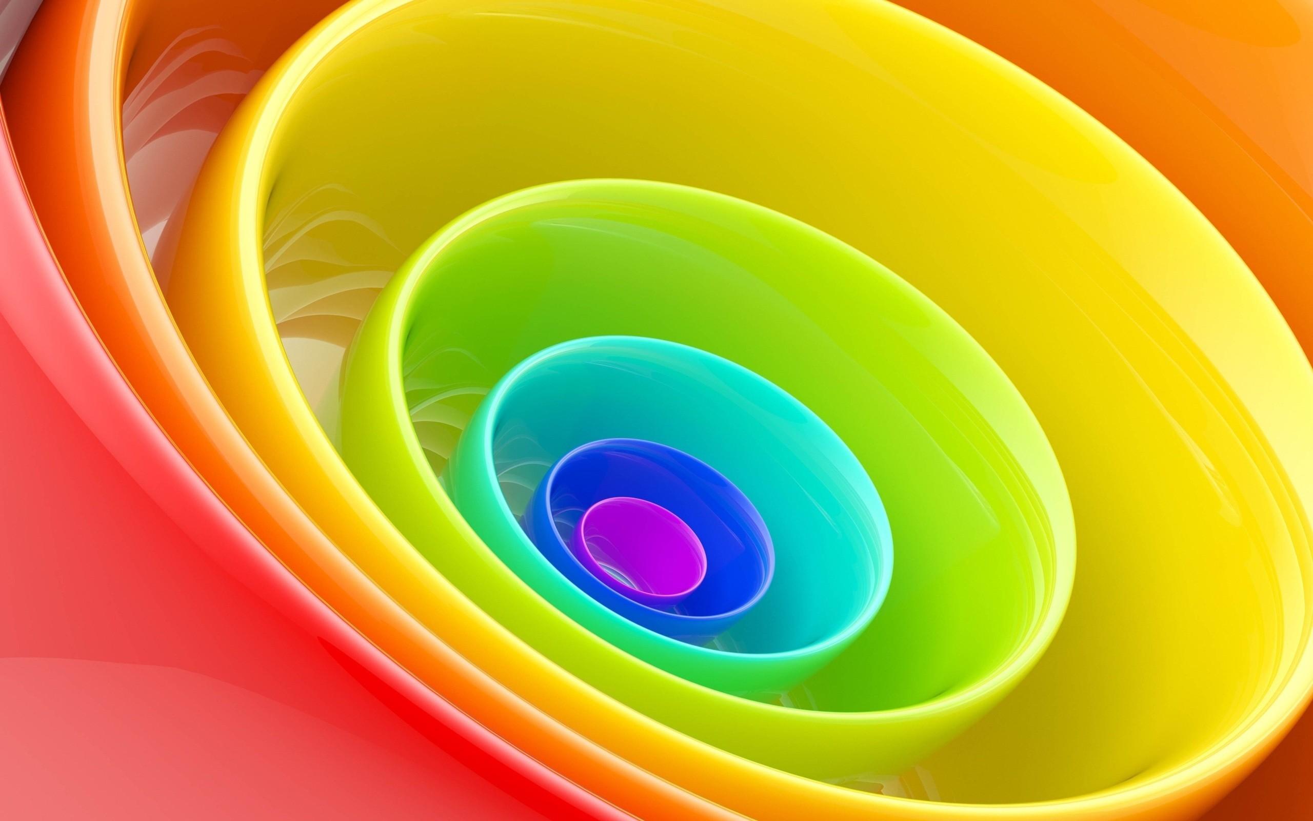 Res: 2560x1600, 3d Rainbow Wallpaper 1080p #qYF