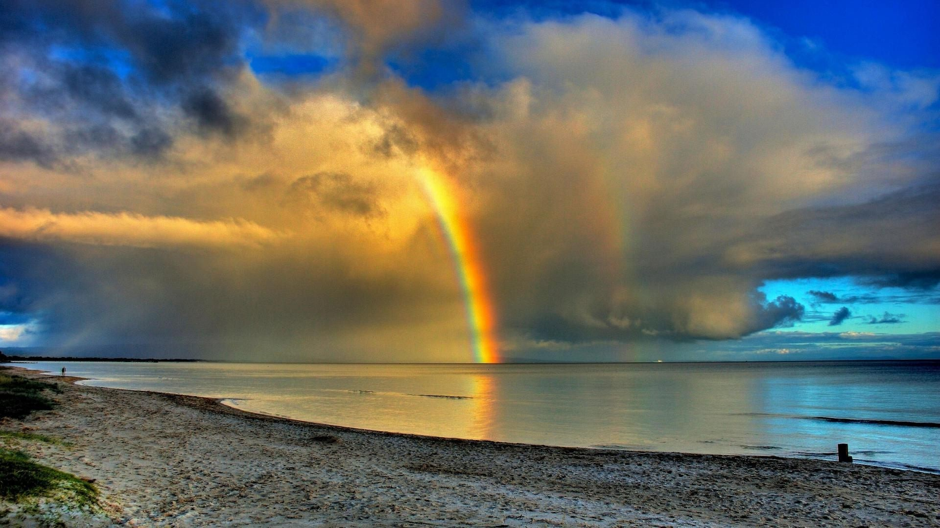 Res: 1920x1080, ... Rainbow Wallpaper Rainbow Wallpaper