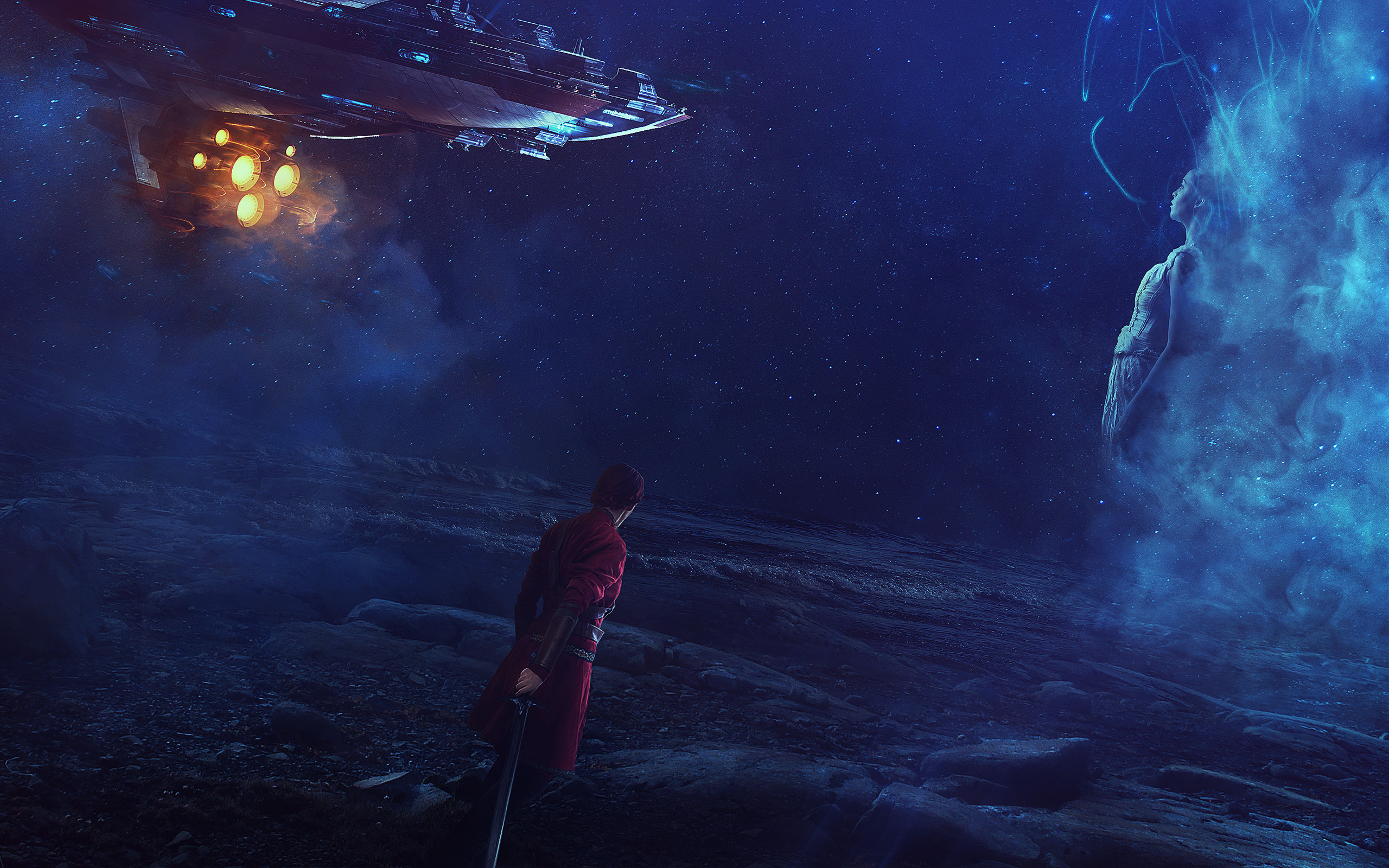 Res: 2560x1600, Tags: Space Fantasy