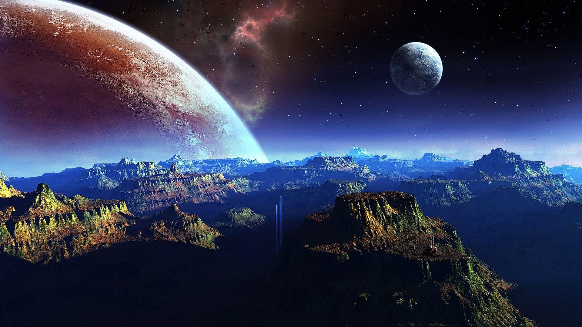 Res: 1920x1080, Space Fantasy HD Desktop Wallpapers 9